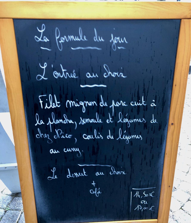 Restaurant-Tipp No. 1: Coté Saveurs in La Tour-du-Pin