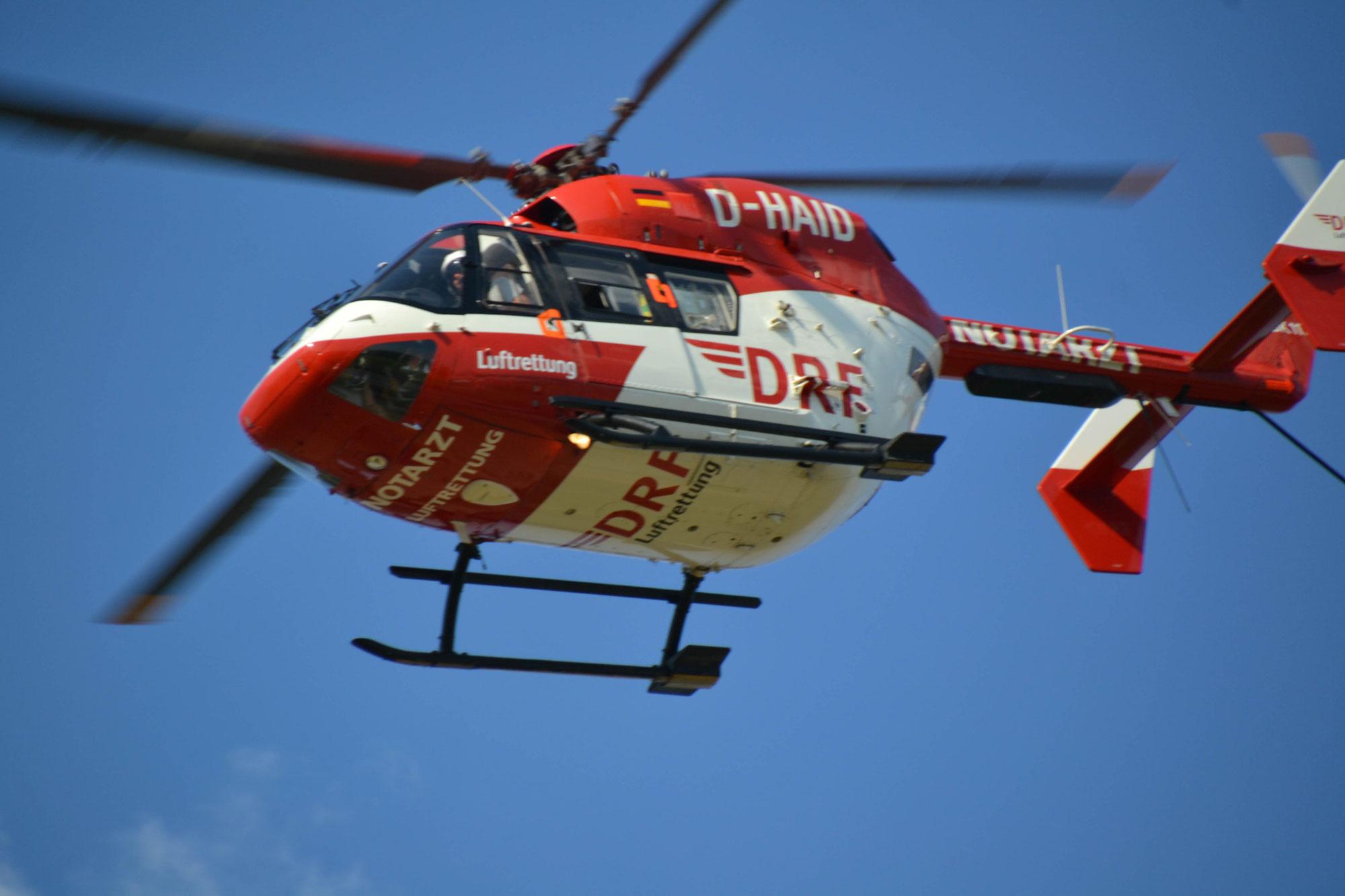 Halbjahresbilanz 2021: Mehr als 100 Einsätze pro Tag für die DRF Luftrettung