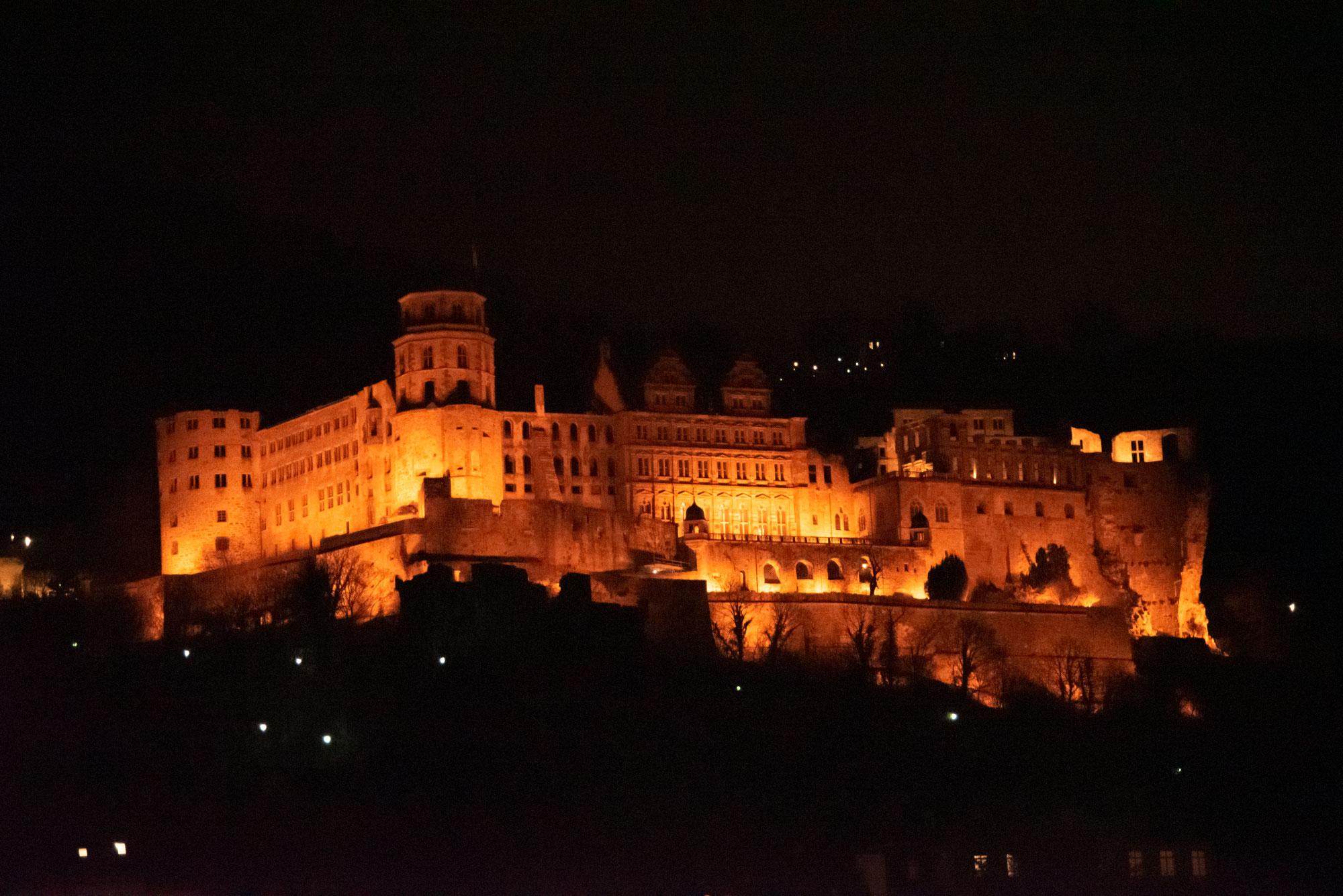 Heidelberg: Morgen öffnet der Schlosshof