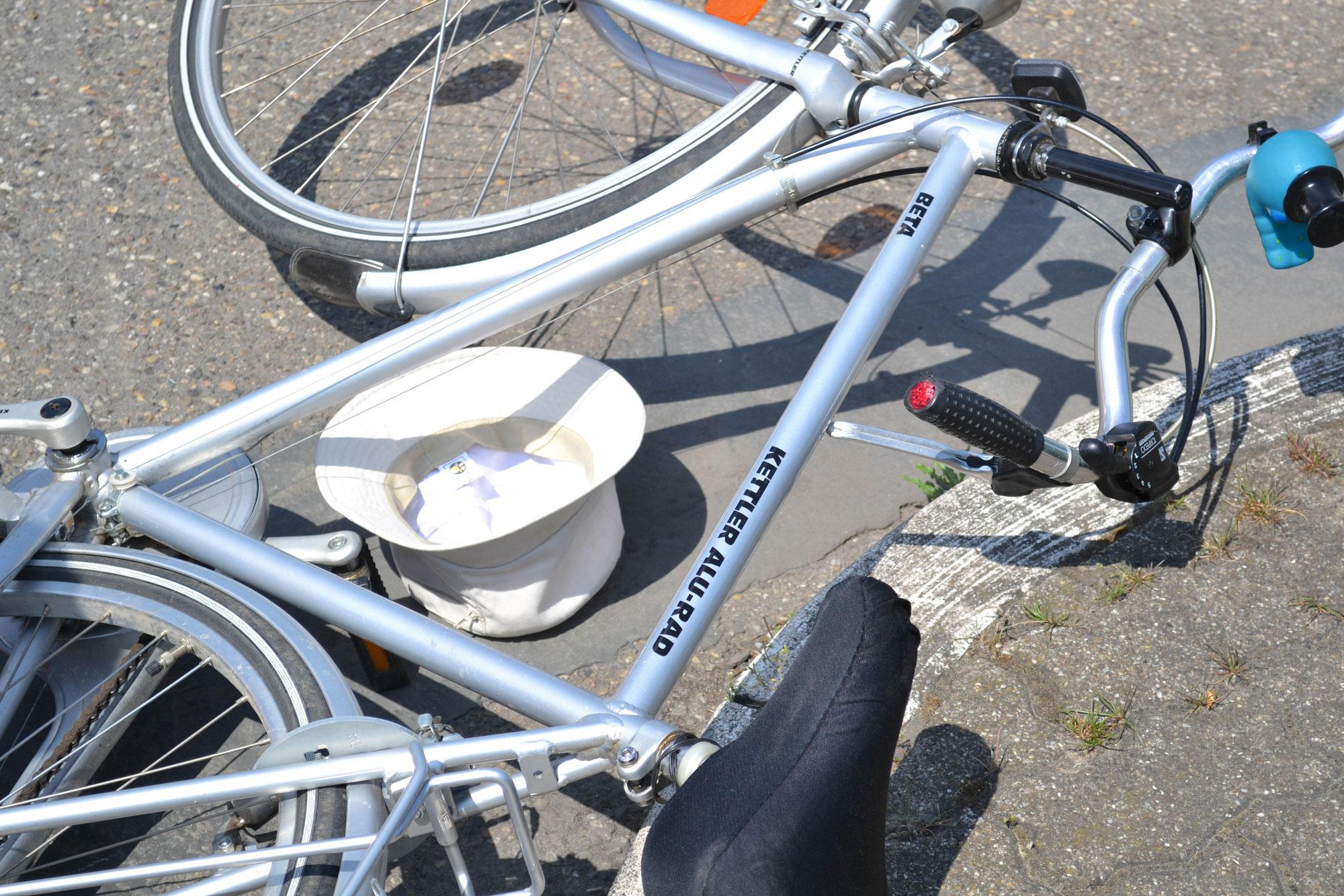 Eggenstein-Leopoldshafen: Betrunkener Fahrradfahrer auf der B 36
