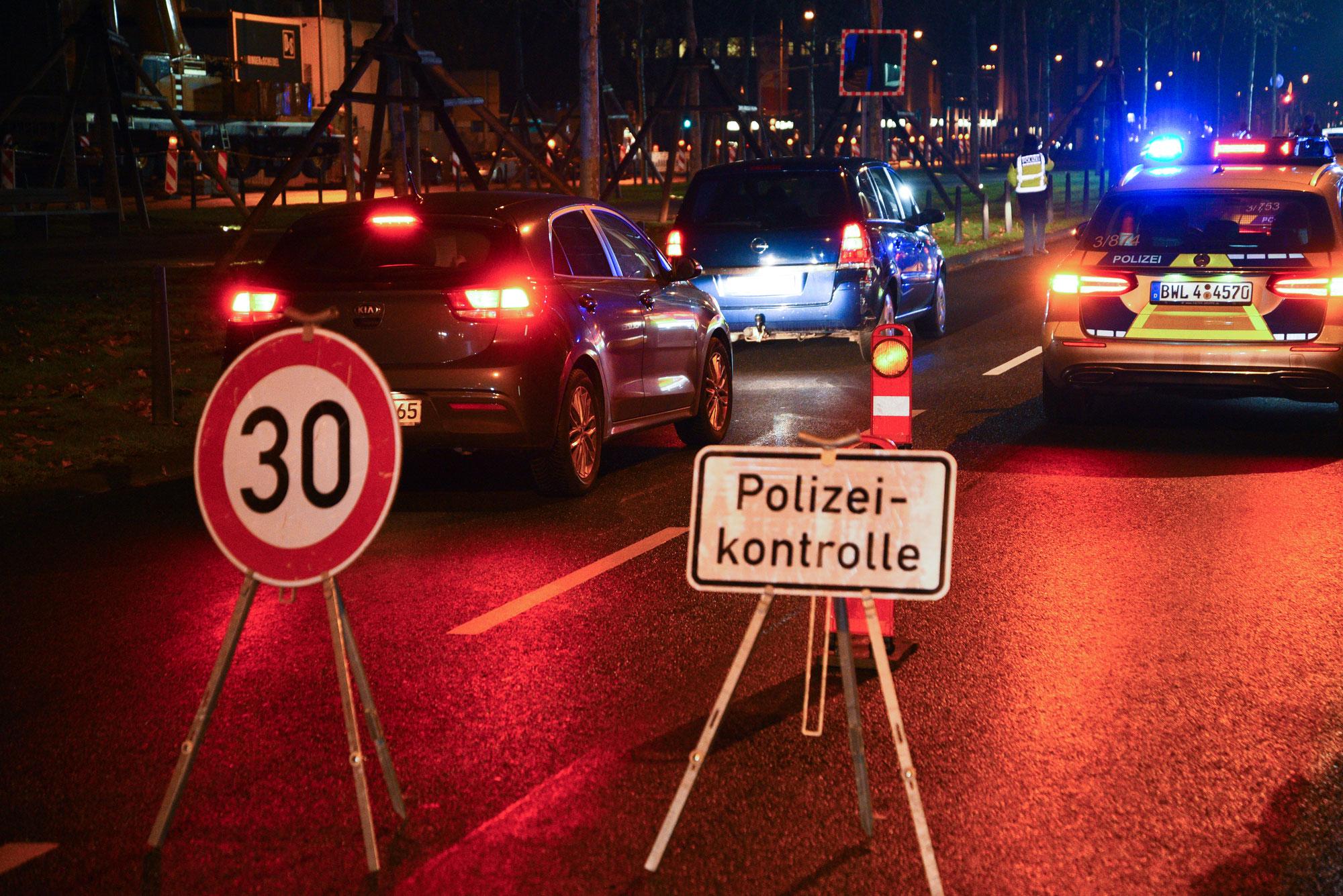 Mannheim-Rheinau: Schwerpunktkontrolle zur Bekämpfung von Alkohol- und Drogendelikten im Straßenverkehr
