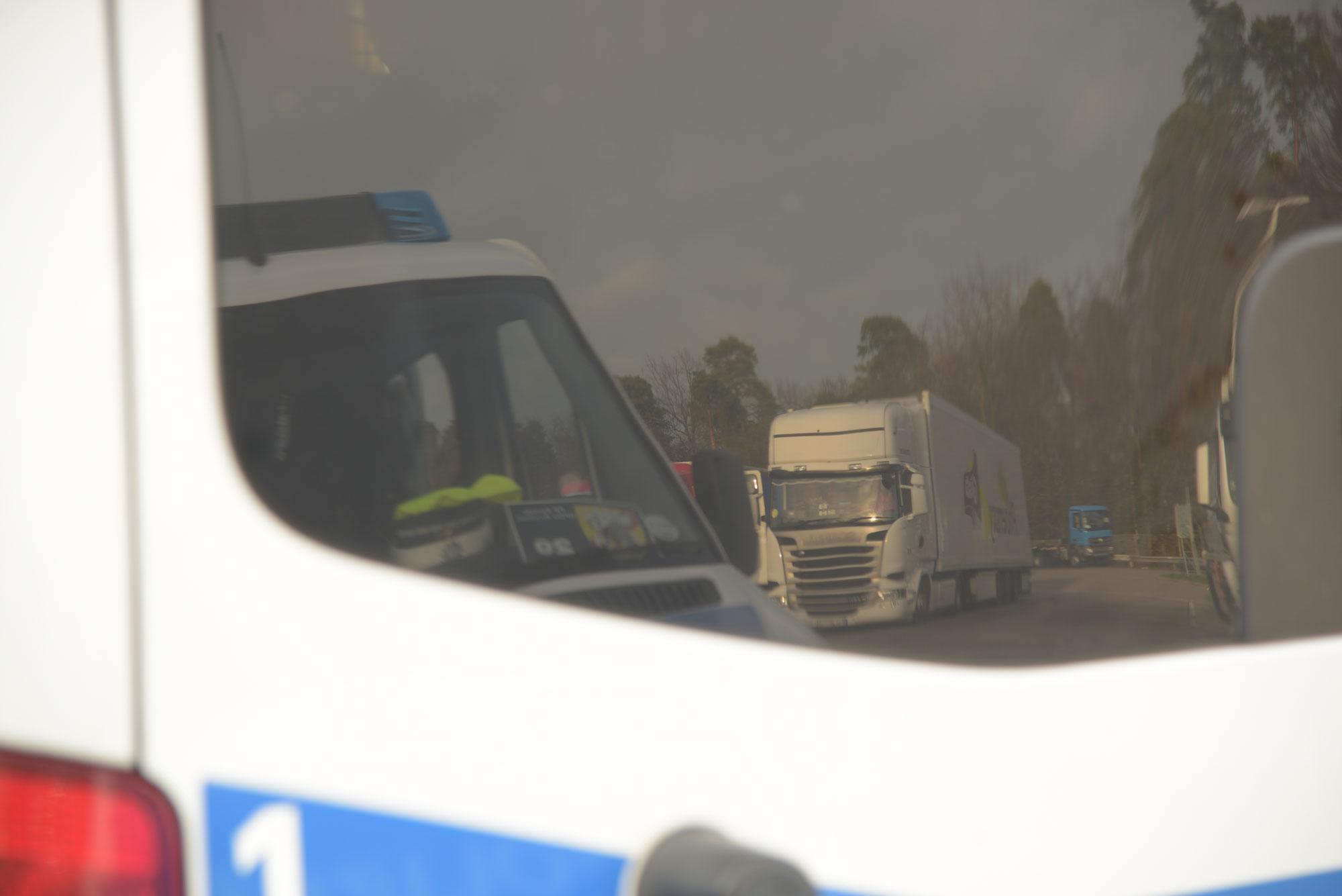 Sinsheim: Erschreckende Bilanz einer Lkw-Kontrolle auf Autobahnraststätte an A 6