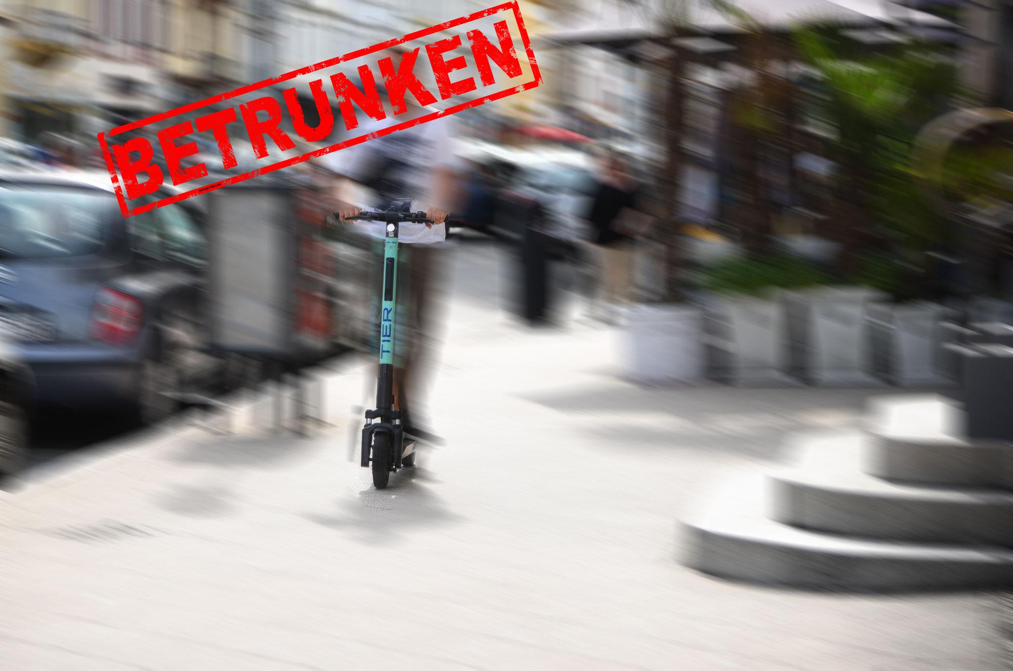 Heidelberg, Mannheim: Zwei schwere Unfälle - betrunkene E-Scooter Fahrer in Krankenhäusern