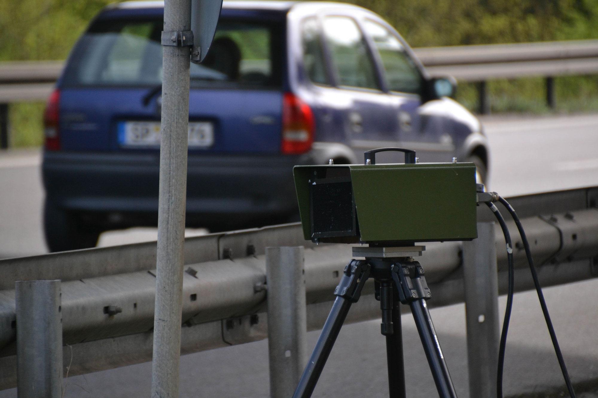 Radarkontrollen des Polizeipräsidiums Rheinpfalz für Januar 2021