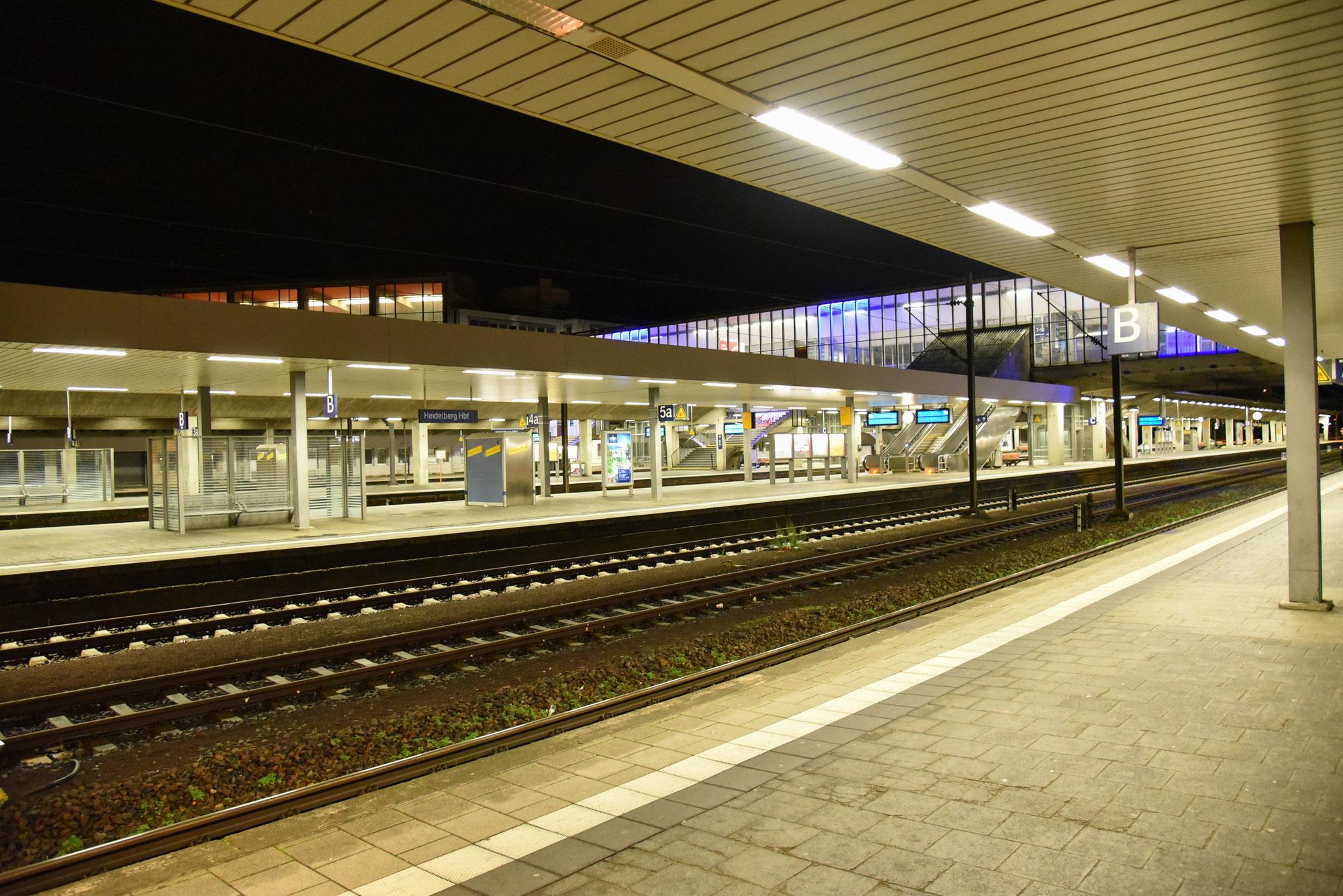 Heidelberg: Angriff auf 72-Jährigen im Heidelberger Hauptbahnhof - Zeugen gesucht
