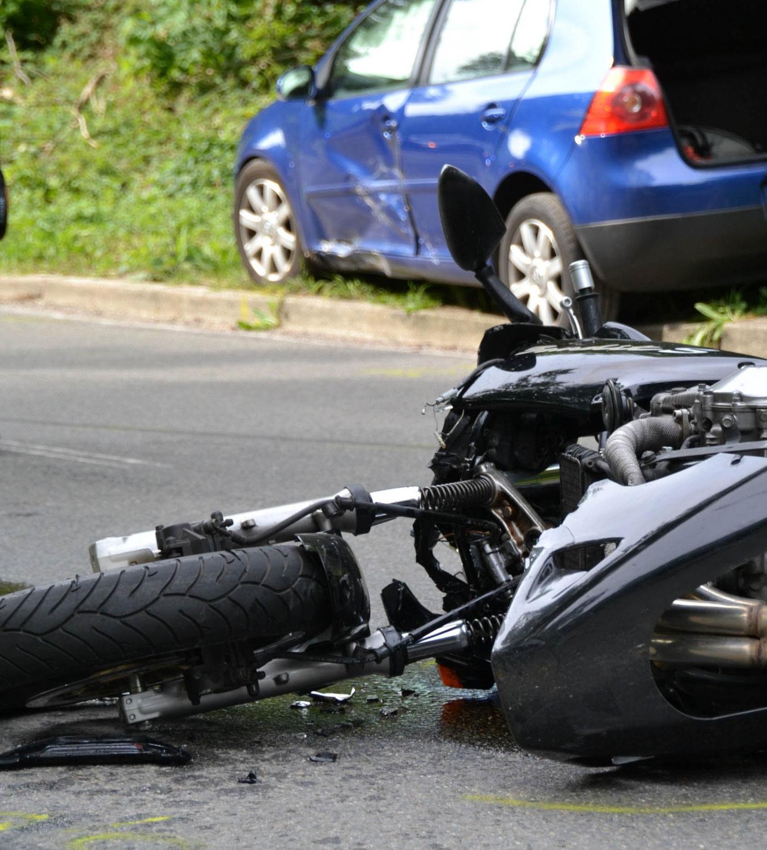 Malsch: Motorradfahrer nach Verkehrsunfall schwer verletzt