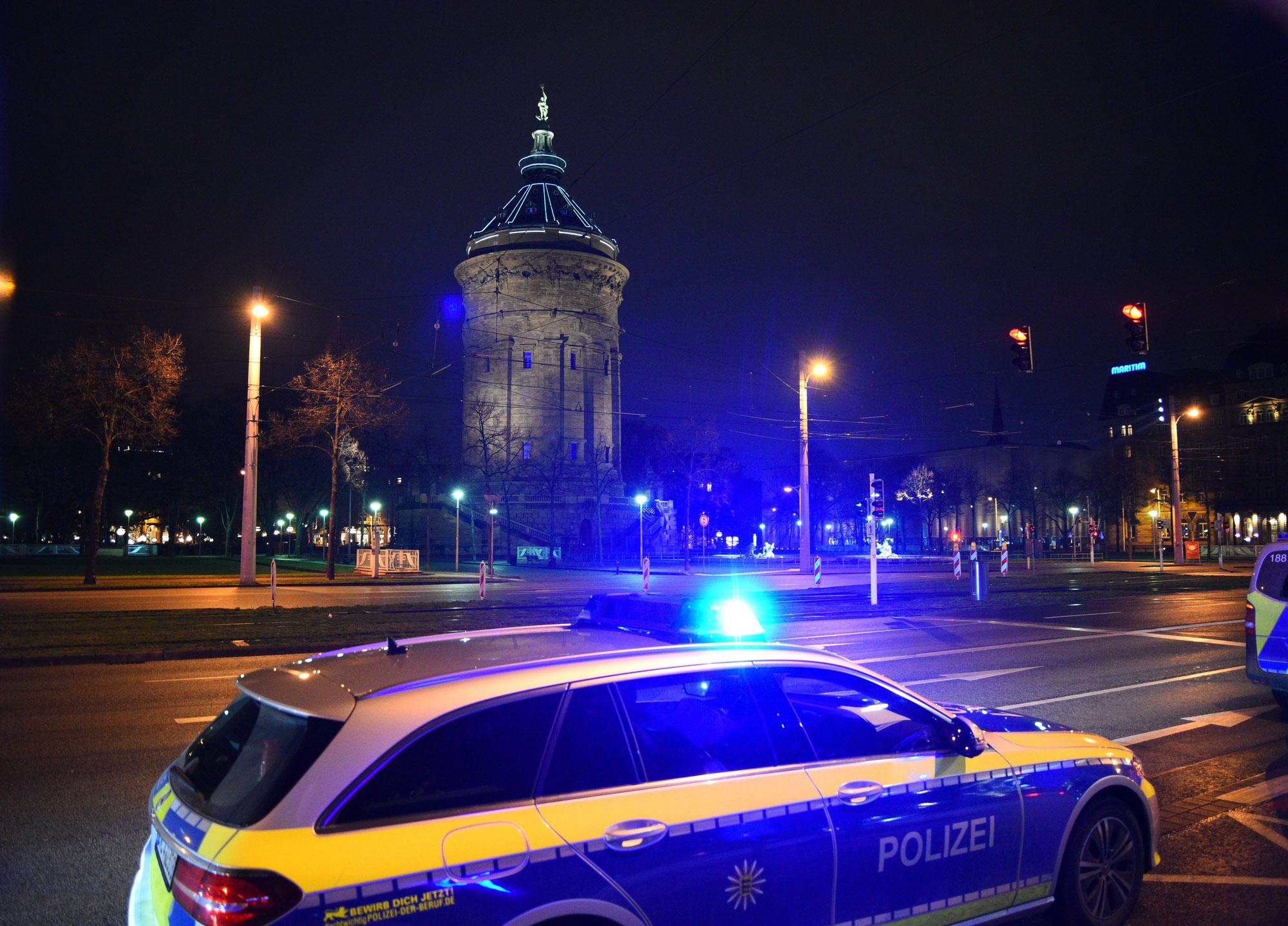 Mannheim-Innenstadt: 31-jähriger Mann in Posermanier in der Innenstadt unterwegs - Fahrzeug sichergestellt