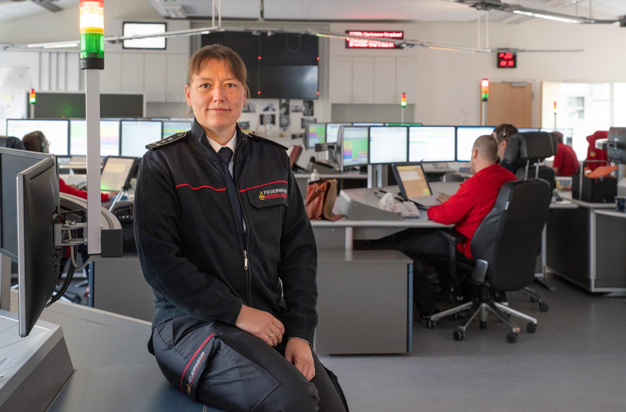 Die Integrierte Leitstelle Heidelberg/Rhein-Neckar-Kreis hat eine neue Geschäftsführerin