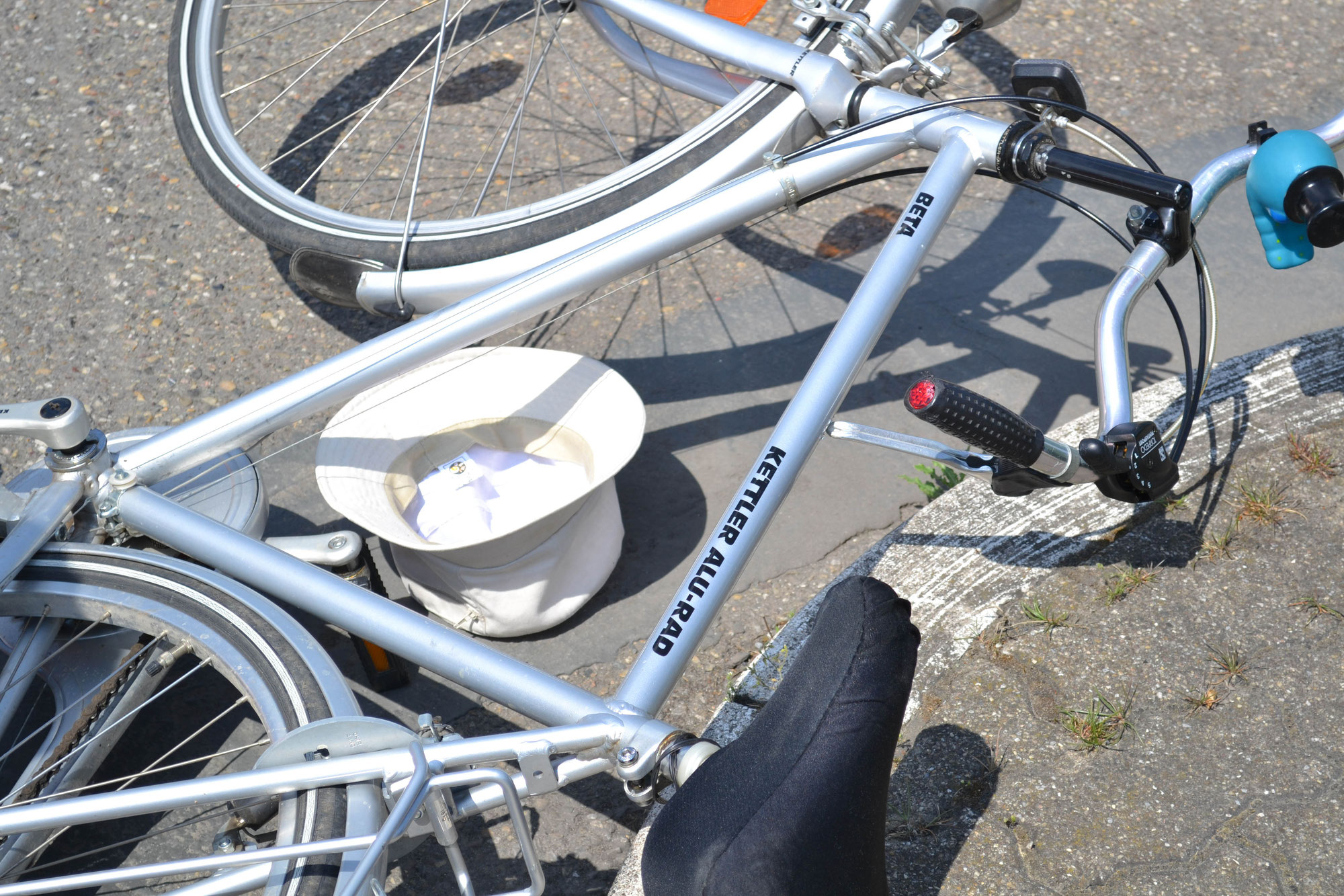 Plankstadt Rhein-Neckar-Kreis: Radfahrer gestürzt und schwer verletzt