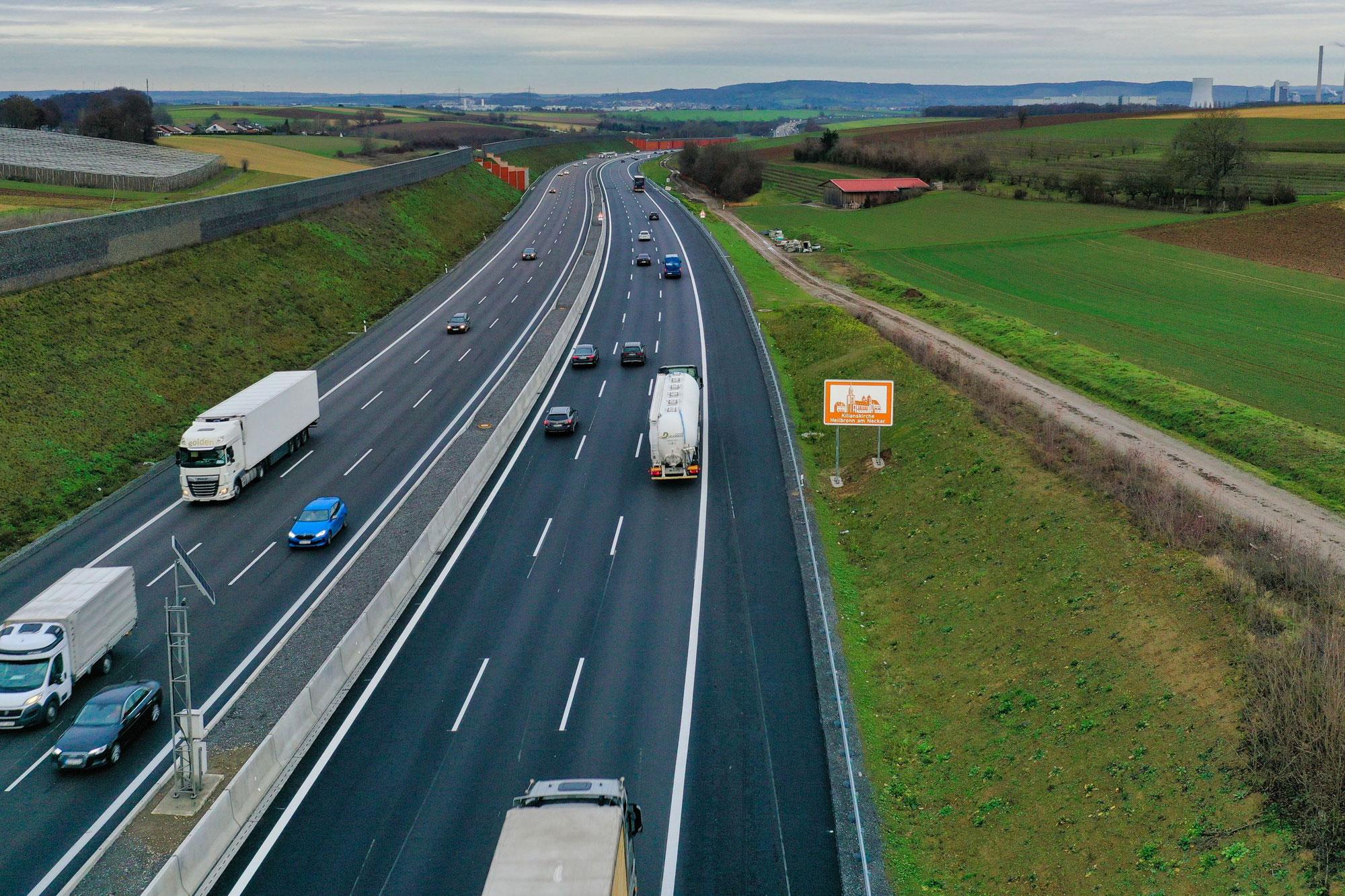 Autobahn A6: Fristgerecht die Ausbaustrecken fertiggestellt – Meilenstein für Großprojekt