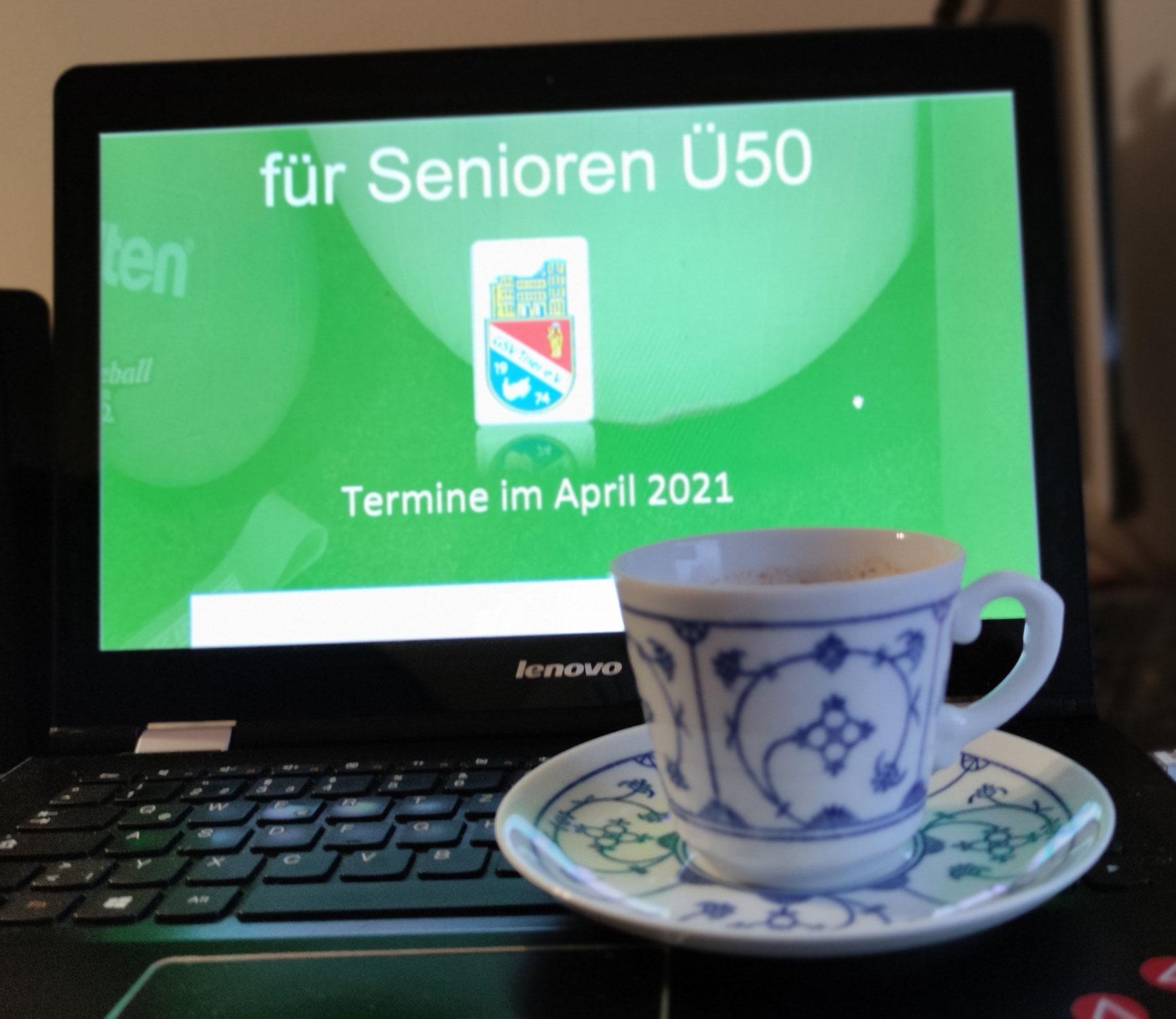 Einladung zur Senioren Café (über Zoom)