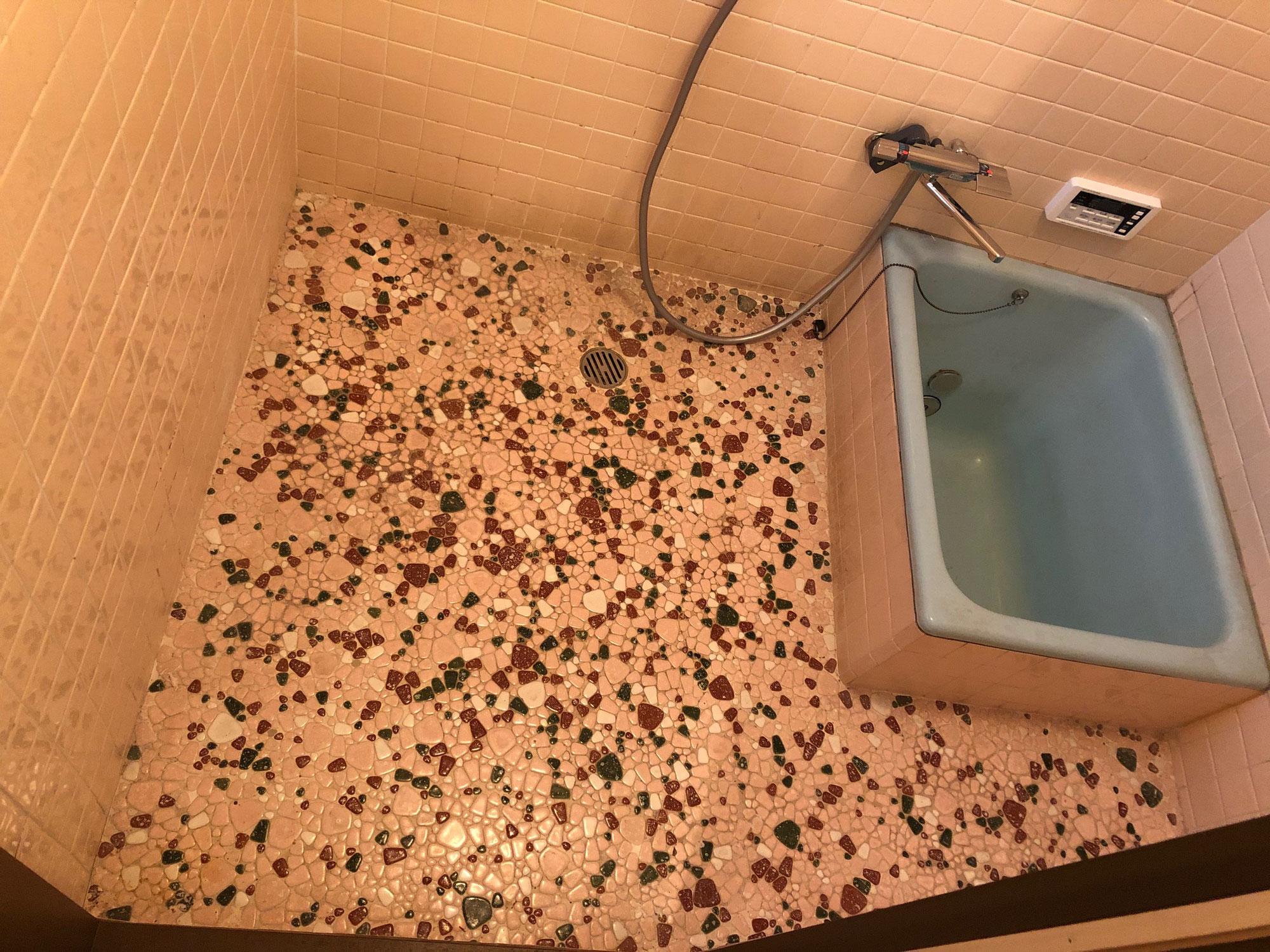 賃貸借家 在来浴室入れ替えないリフォーム 山口県周南市