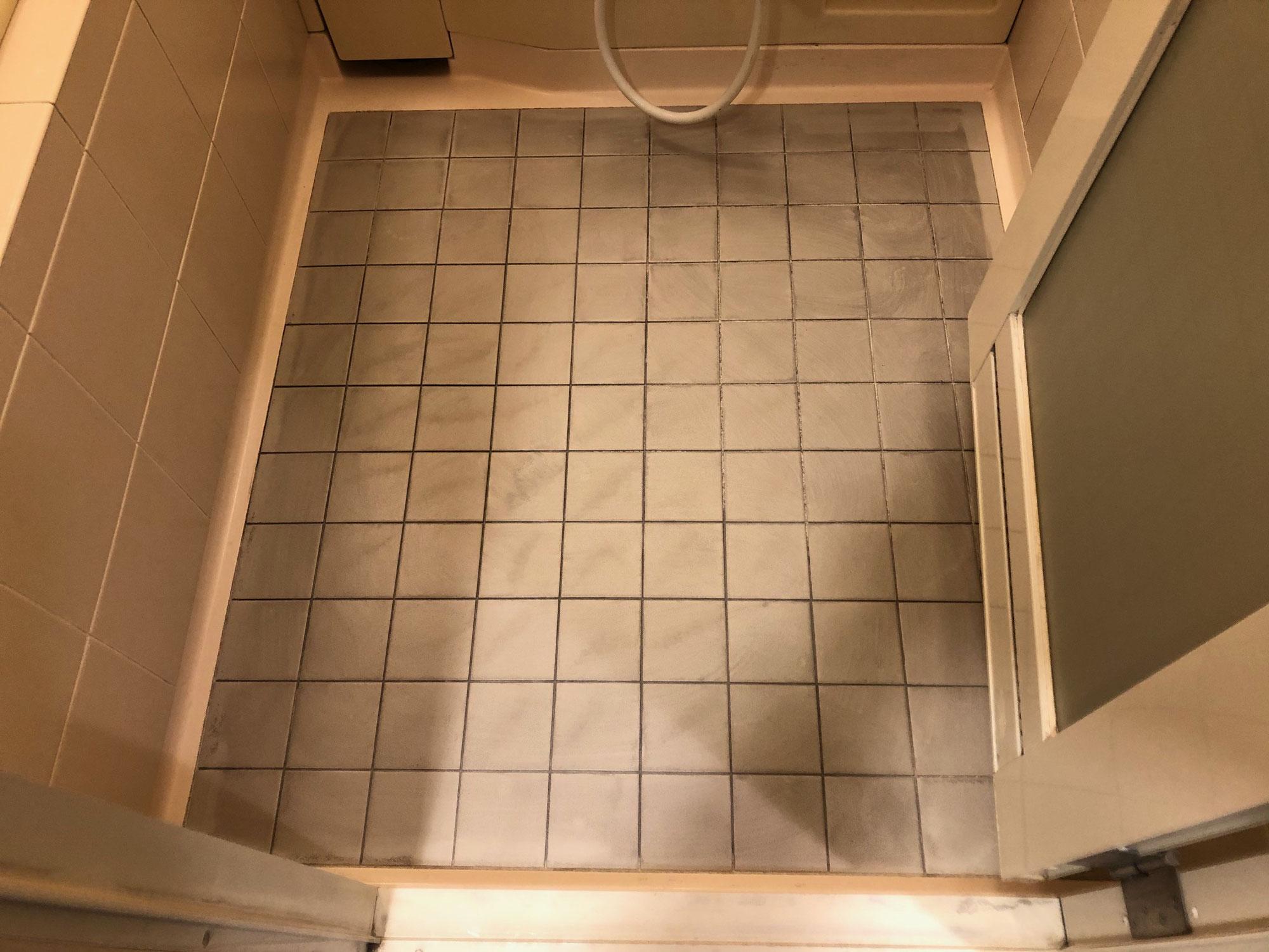 分譲マンション ユニットバス洗い場浴室用シート貼り 愛媛県新居浜市徳常町