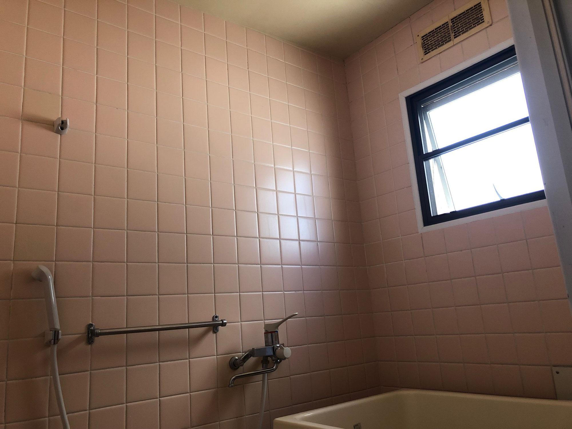 賃貸マンション在来浴室再生工事 愛媛県今治市宮下町