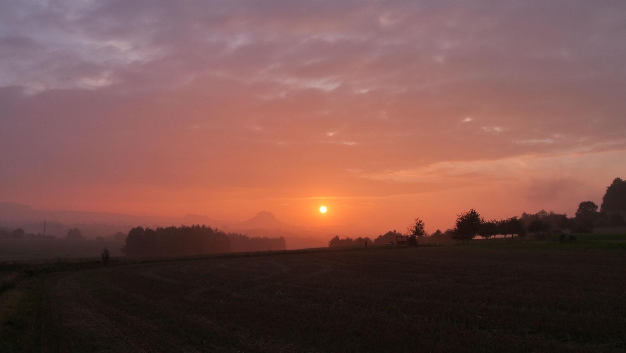 Rückblick: Sonnenuntergangstour am 16. September