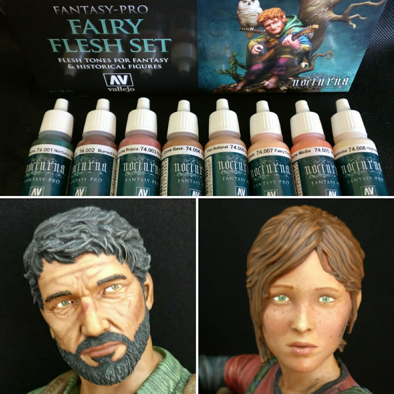 Review: Vallejo Fantasy-Pro: Fairy Flesh Set - English