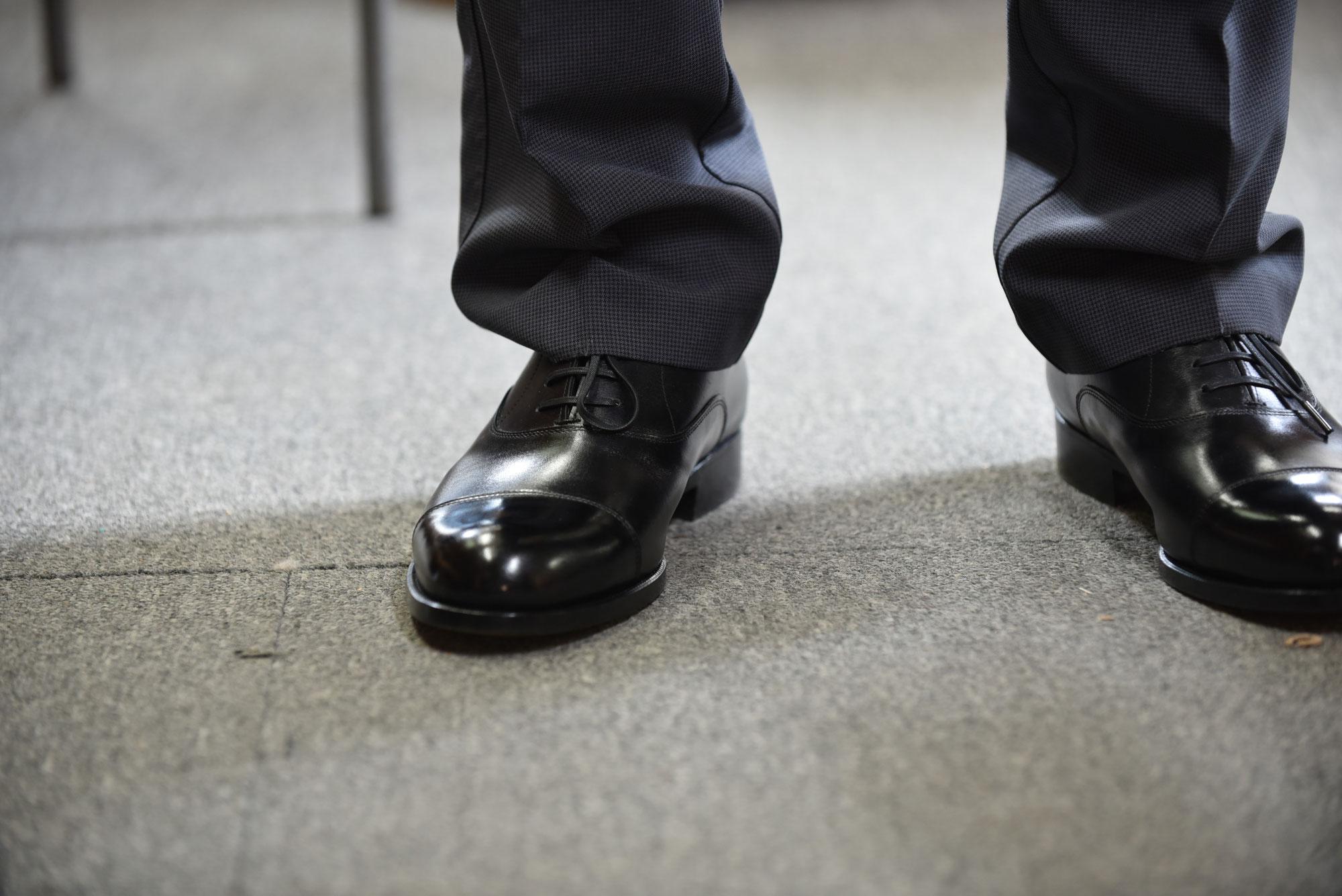 内羽根紳士靴(紳士靴153)