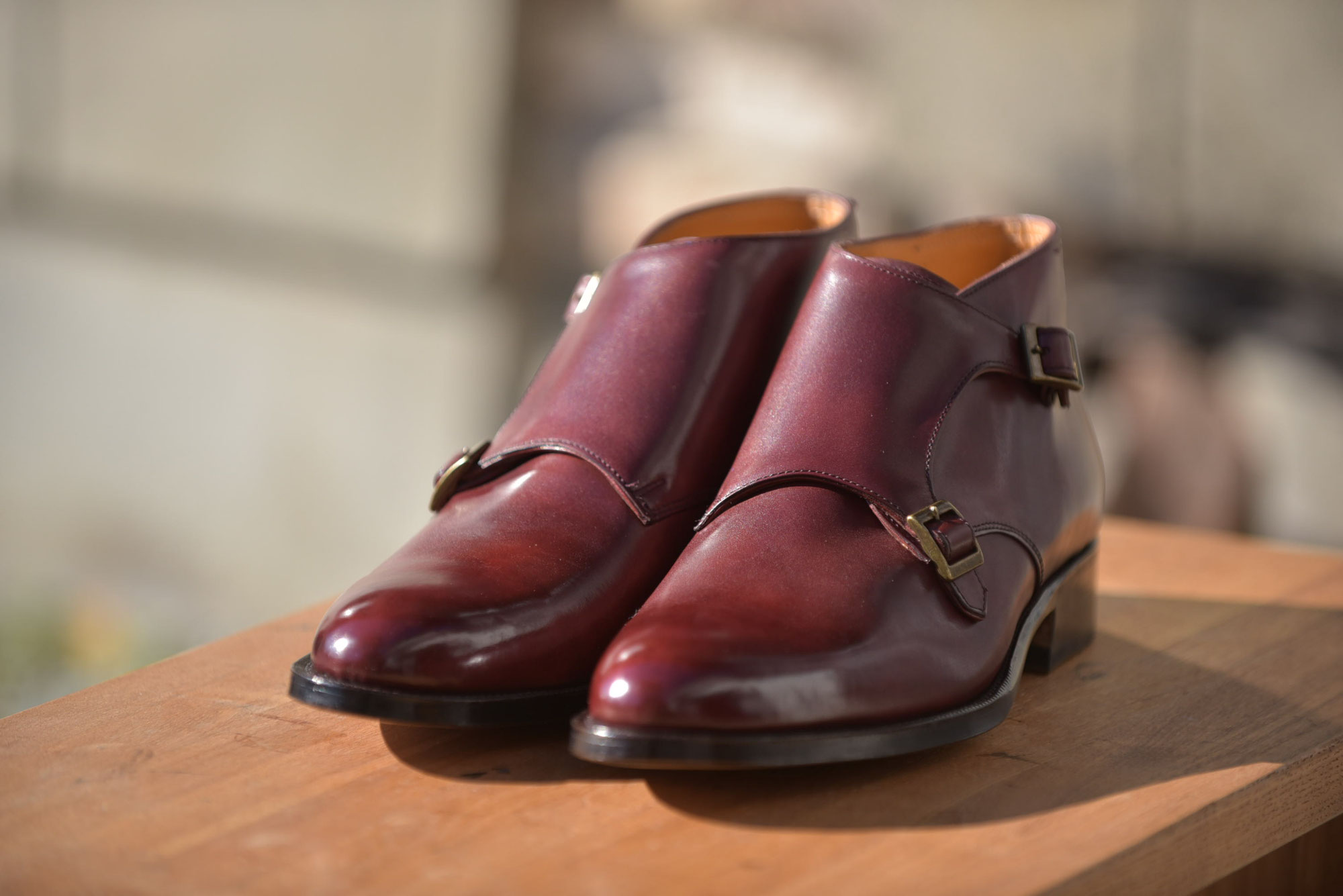 外羽根紳士靴(紳士靴151)