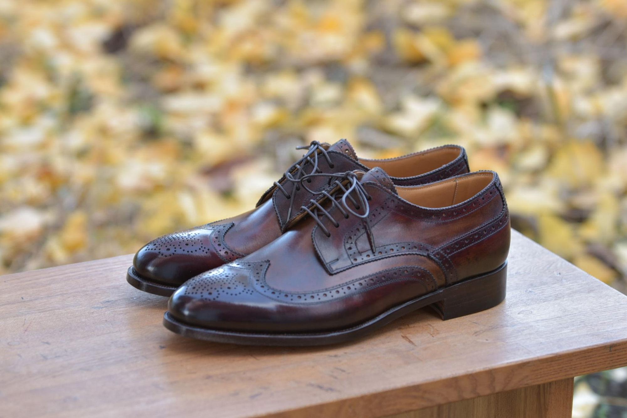 ウイングチップ(紳士靴148)