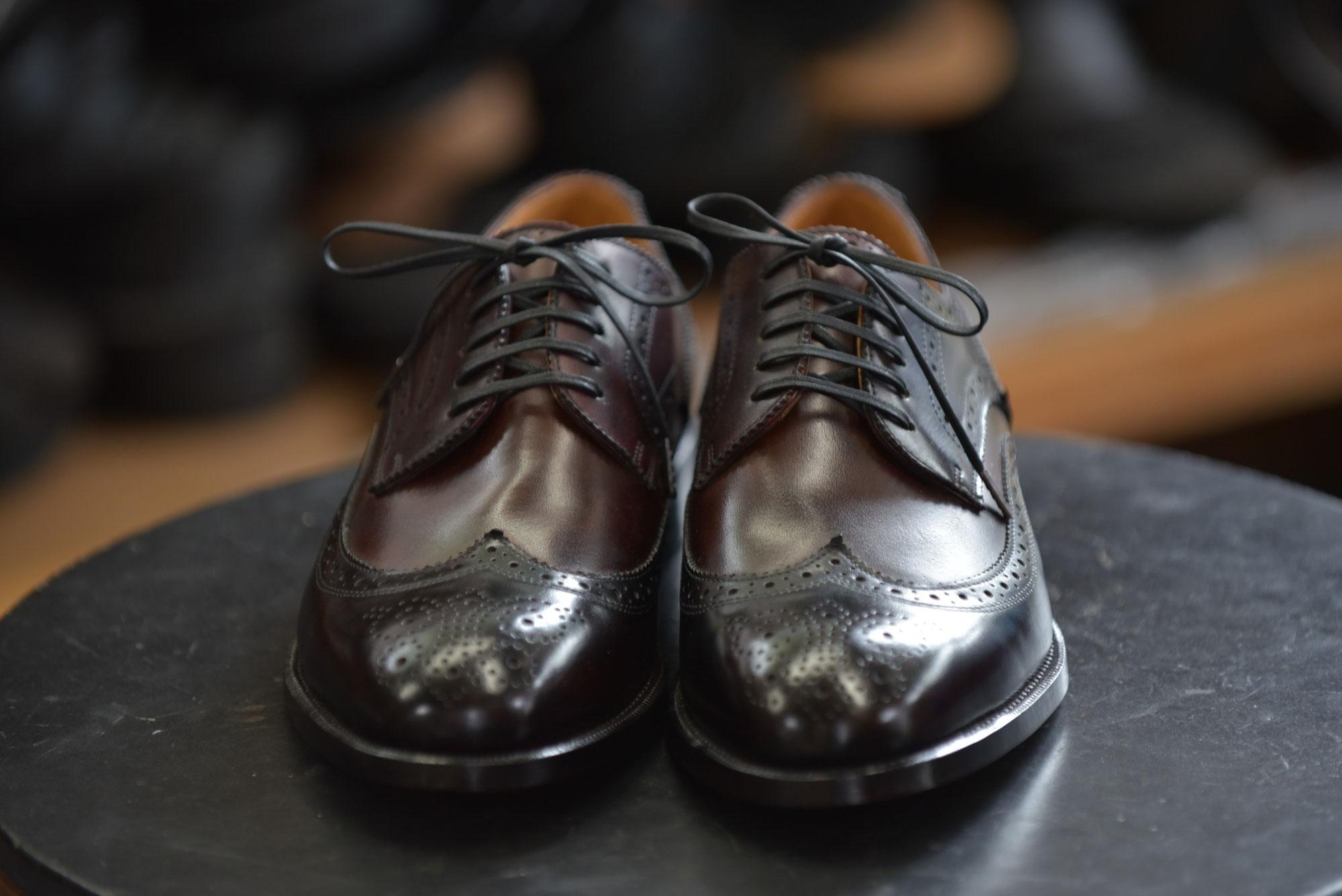 外羽根紳士靴(紳士靴154)