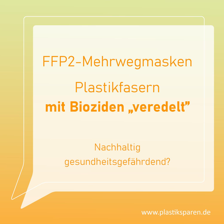 Sind waschbare FFP2-Mehrwegmasken gesund?