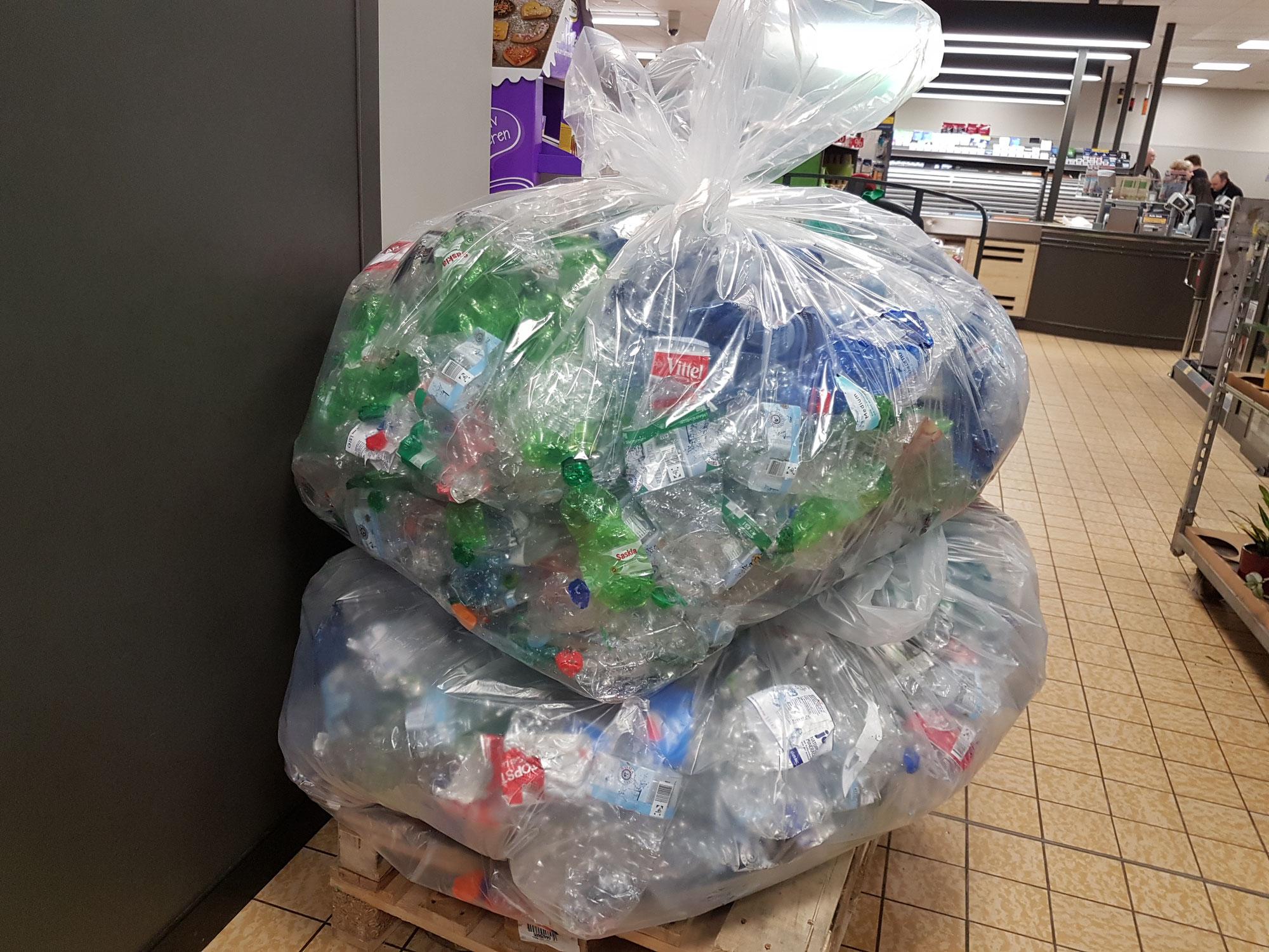 Plastik fasten - Verzicht auf Einwegflaschen