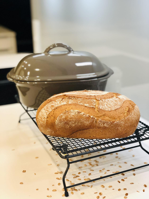 Oscar - mein Hausbrot gebacken im Ofenmeister von Pampered Chef®