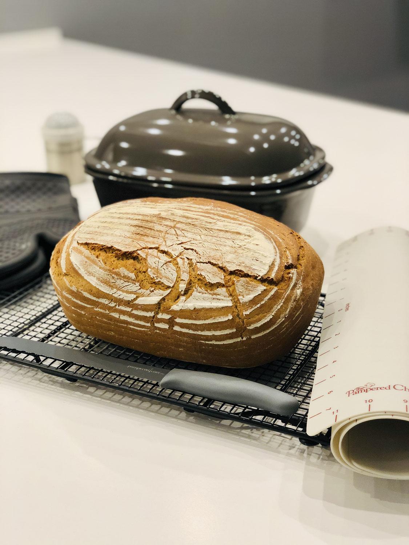 VitaMalz Brot gebacken im Ofenmeister von Pampered Chef®