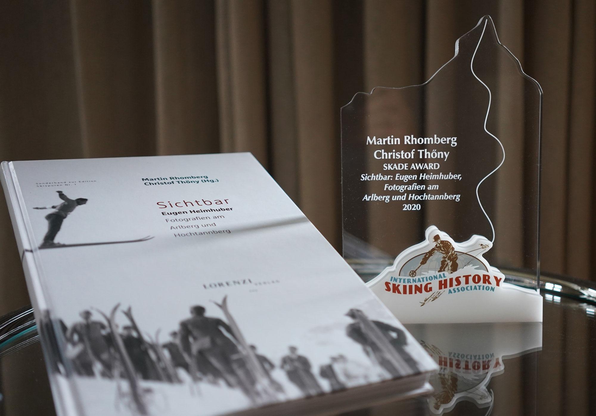 """Skade Award für das Buch """"Sichtbar"""""""