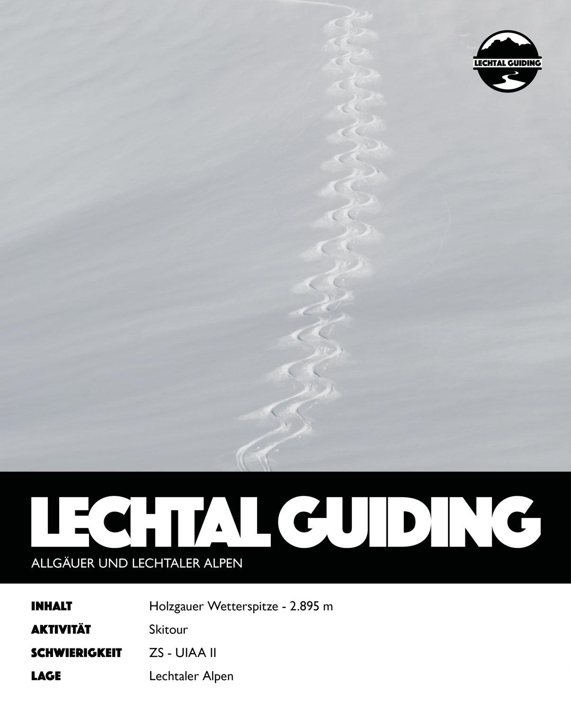 Lechtal - Skitour - Holzgauer Wetterspitze
