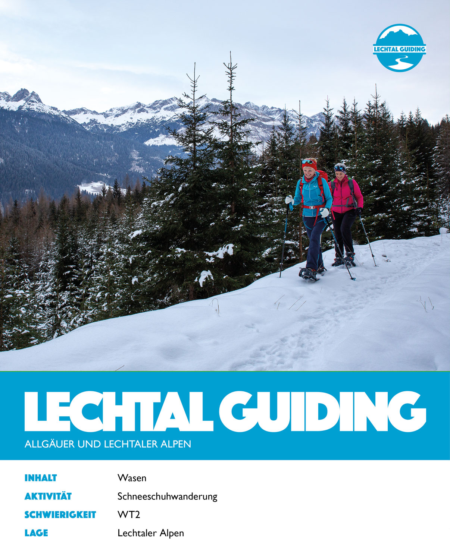 Lechtal - Schneeschuhwanderung Wasen