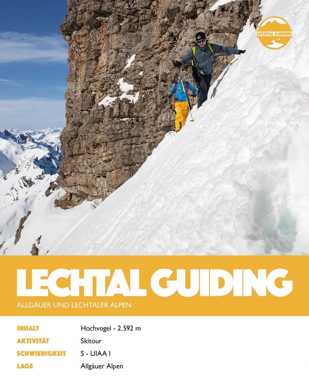 Lechtal - Skitour - Hochvogel
