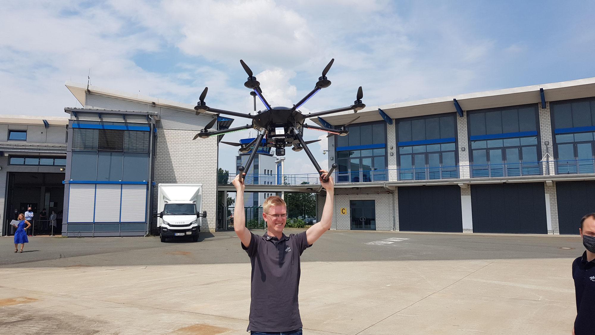 Drohnen-Testzentrum simuliert Rettungseinsätze nach Naturkatastrophen