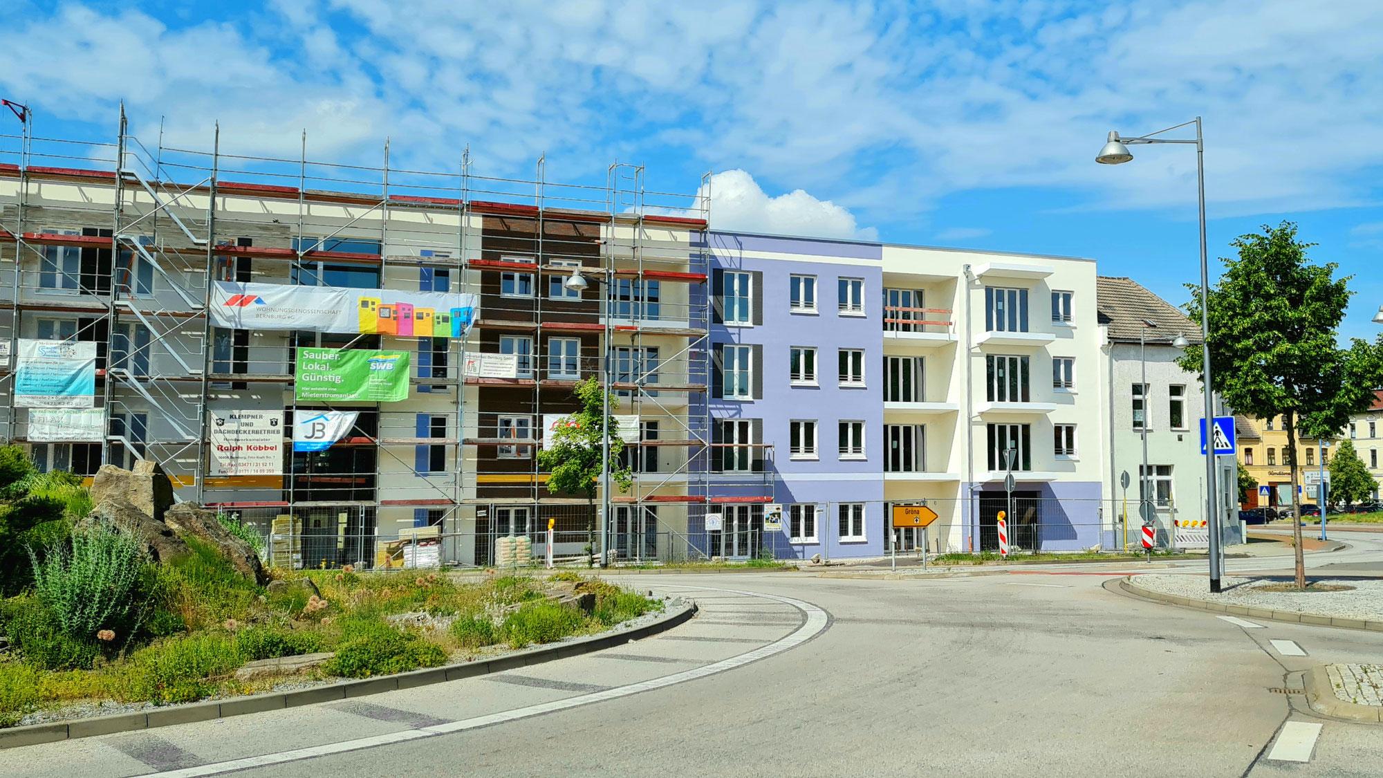 Schick und teuer, das neue Appartementhaus am Kreisverkehr