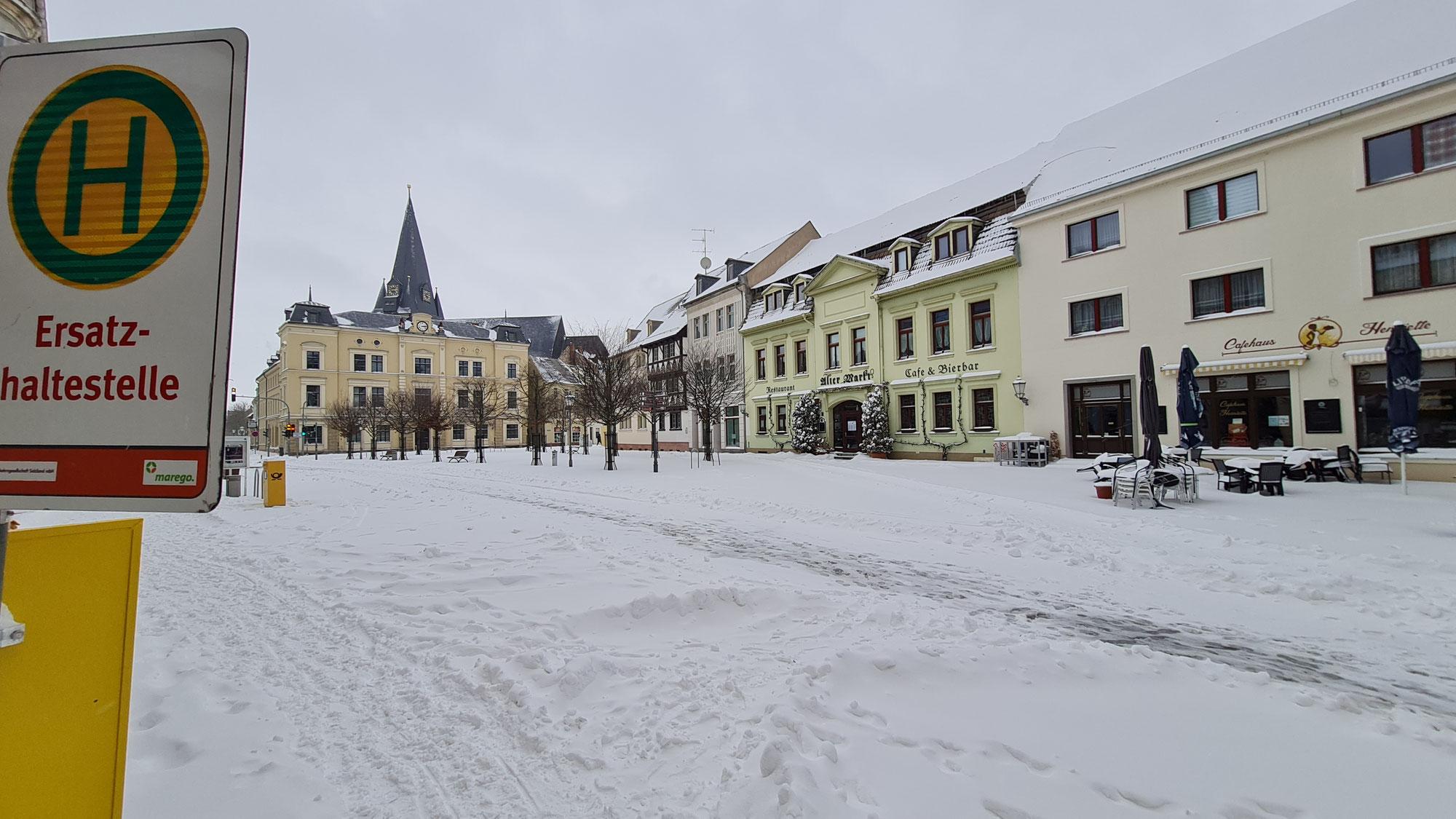 Busverkehr im Salzlandkreis eingestellt