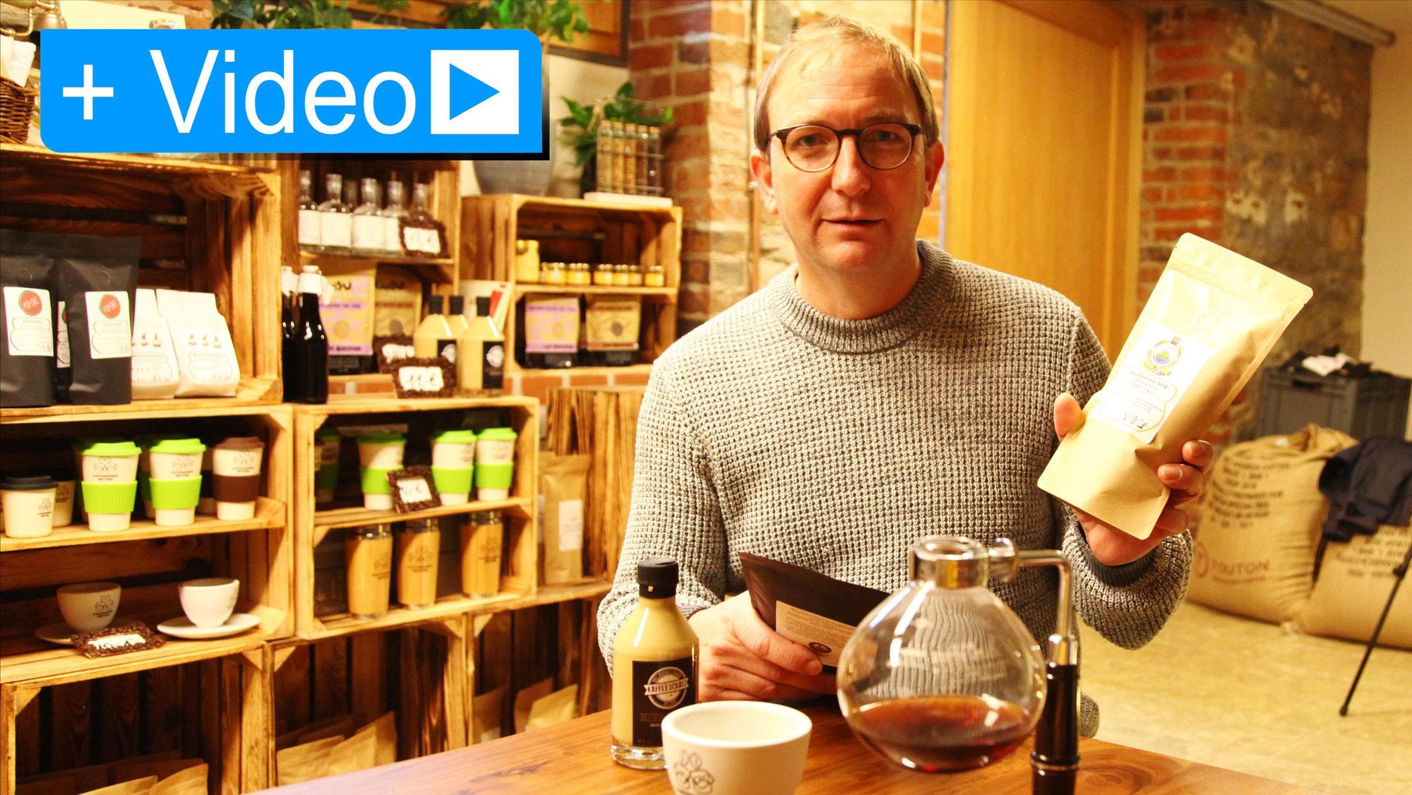 Landrat auf Salzlandtour bei den Kaffeemännern
