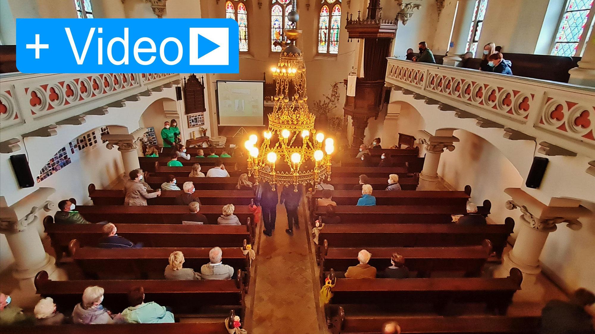 In Peißen wurde die Kirchturmuhr feierlich eingeweiht