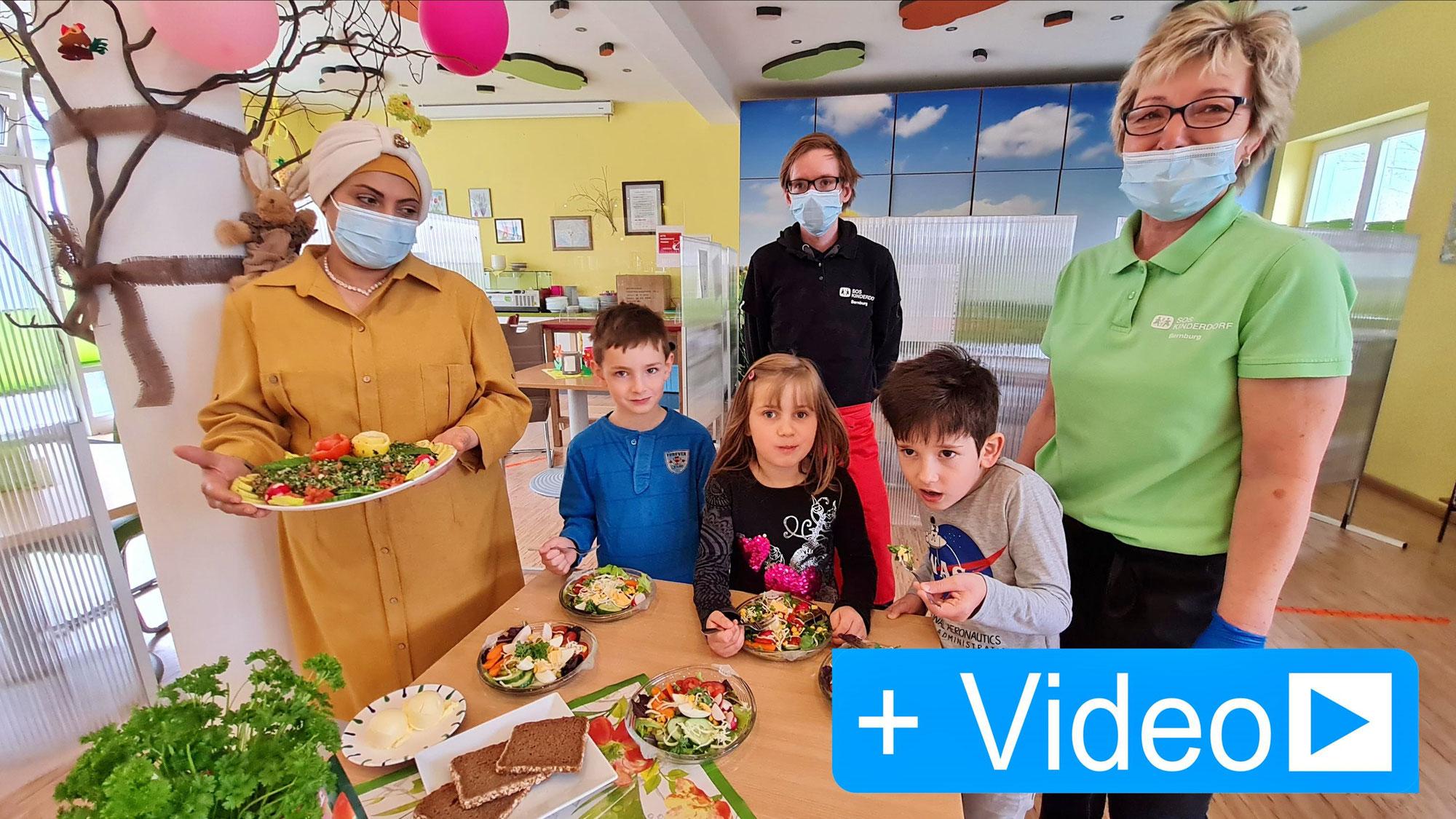 Syrische Küche im SOS Kinderdorf kennen lernen