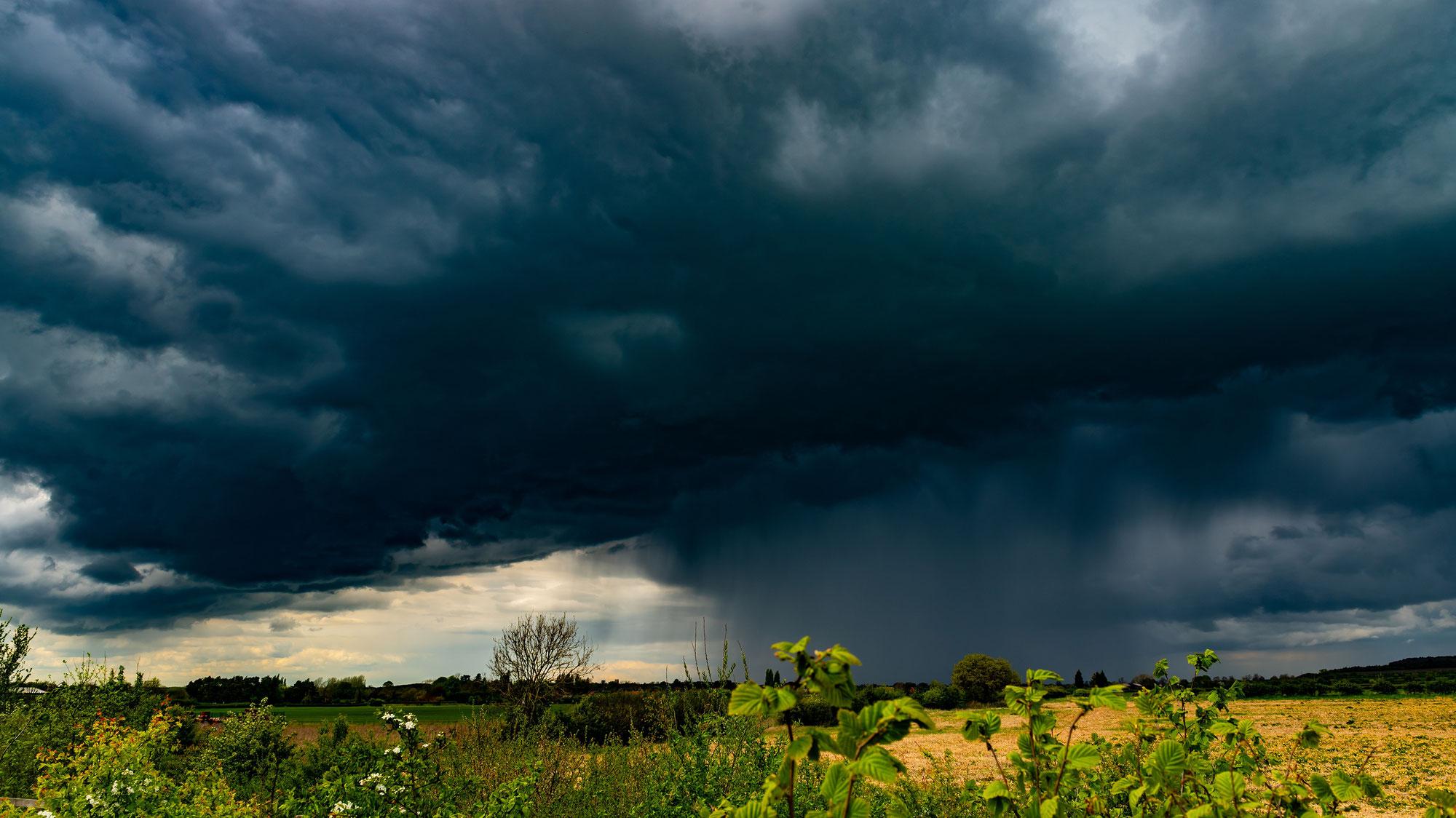 Massive Unwetterlage am Donnerstag