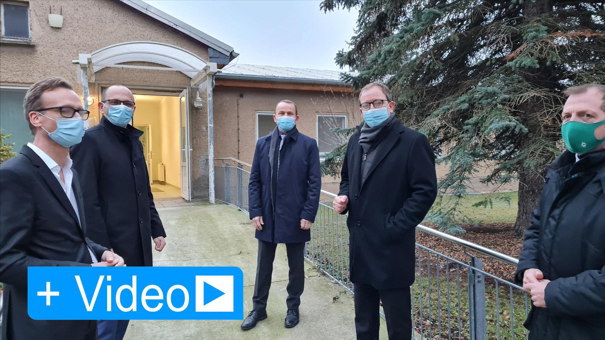 Impf- und Logistikzentrum entsteht in Staßfurt