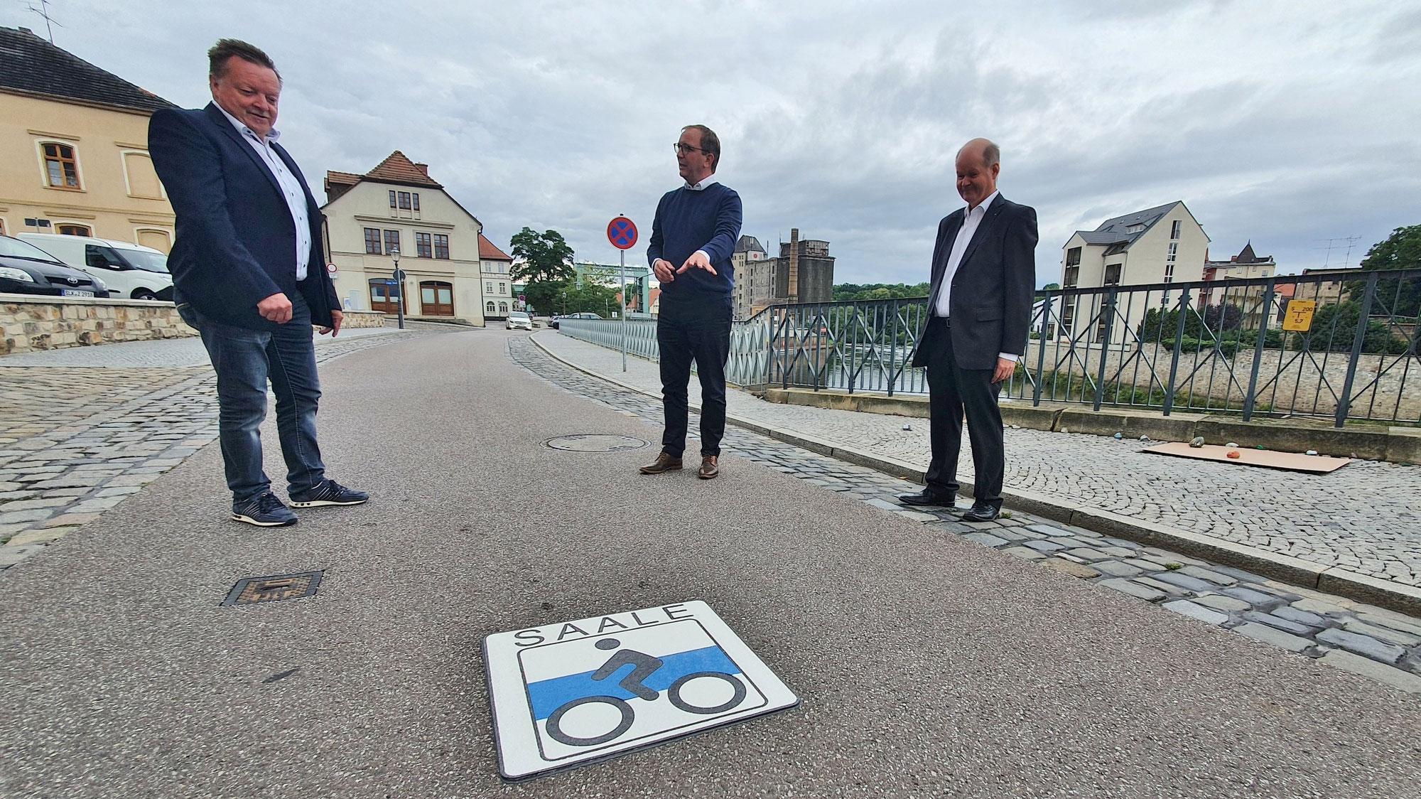 5,7 Millionen Euro für Europaradweg R 1