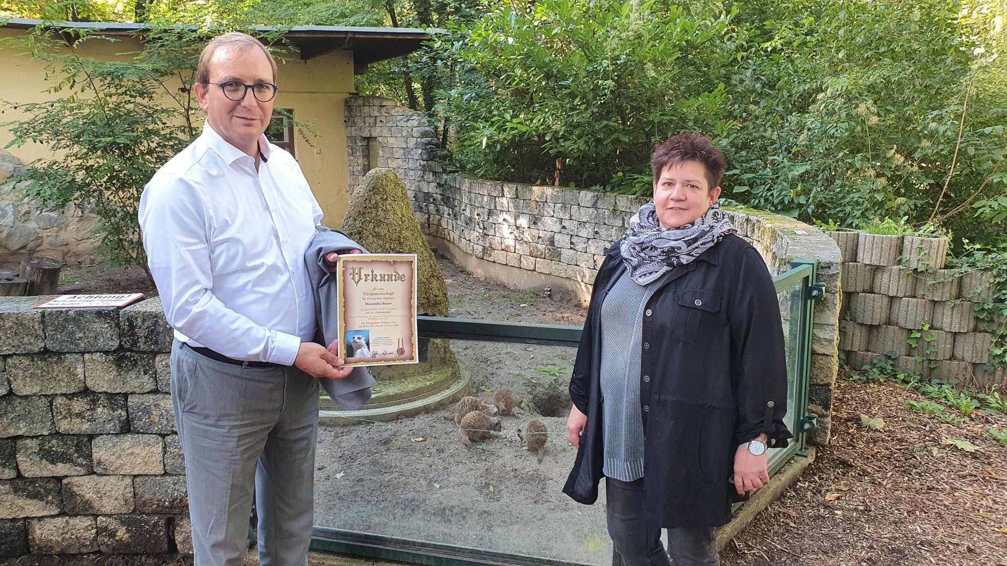 Landrat zu Unterstützung für Tiergarten Staßfurt: Patenschaften schaffen Bindung Heranwachsender an die Region