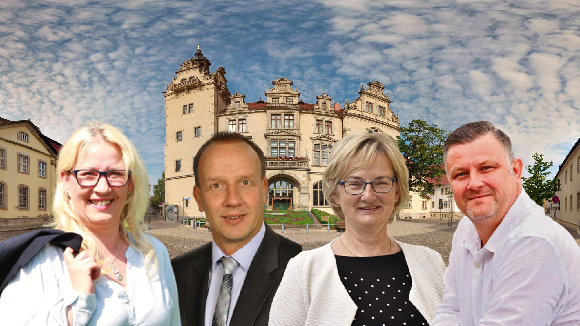 Kandidaten zur Oberbürgermeisterwahl in Bernburg