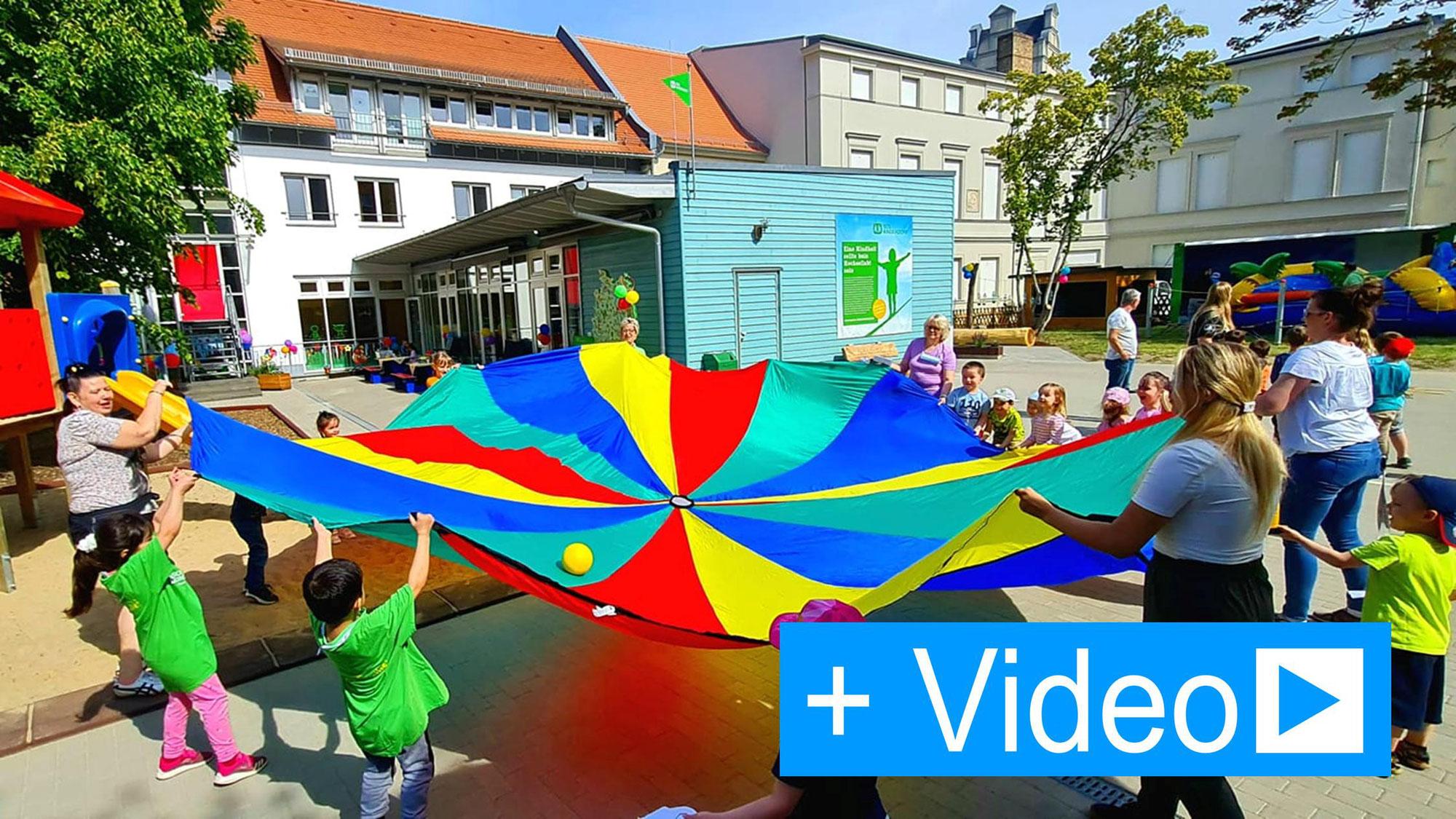 Spiele und Spaß zum Kindertag im SOS Kinderdorf