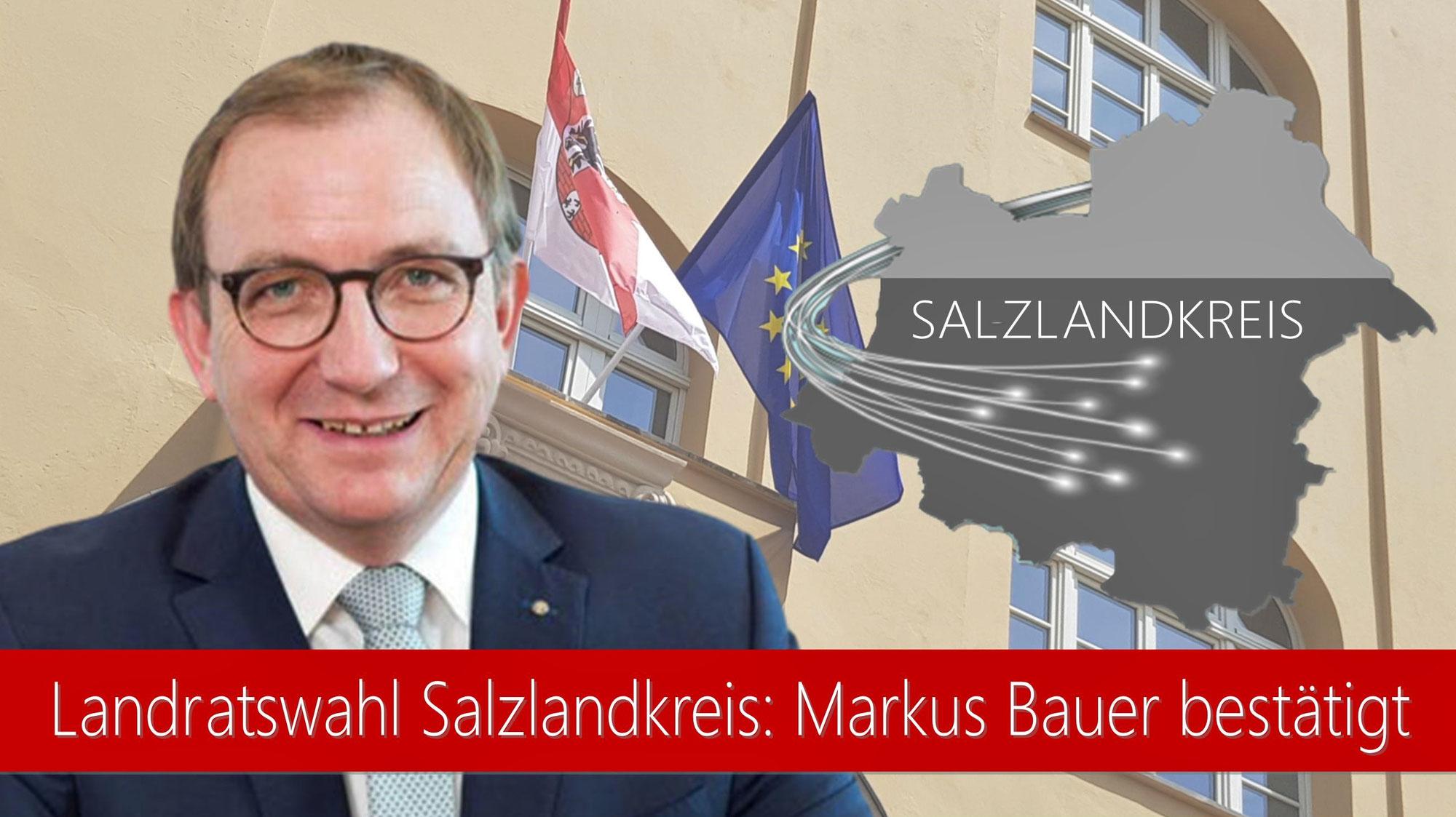 Markus Bauer bleibt Landrat des Salzlandkreises