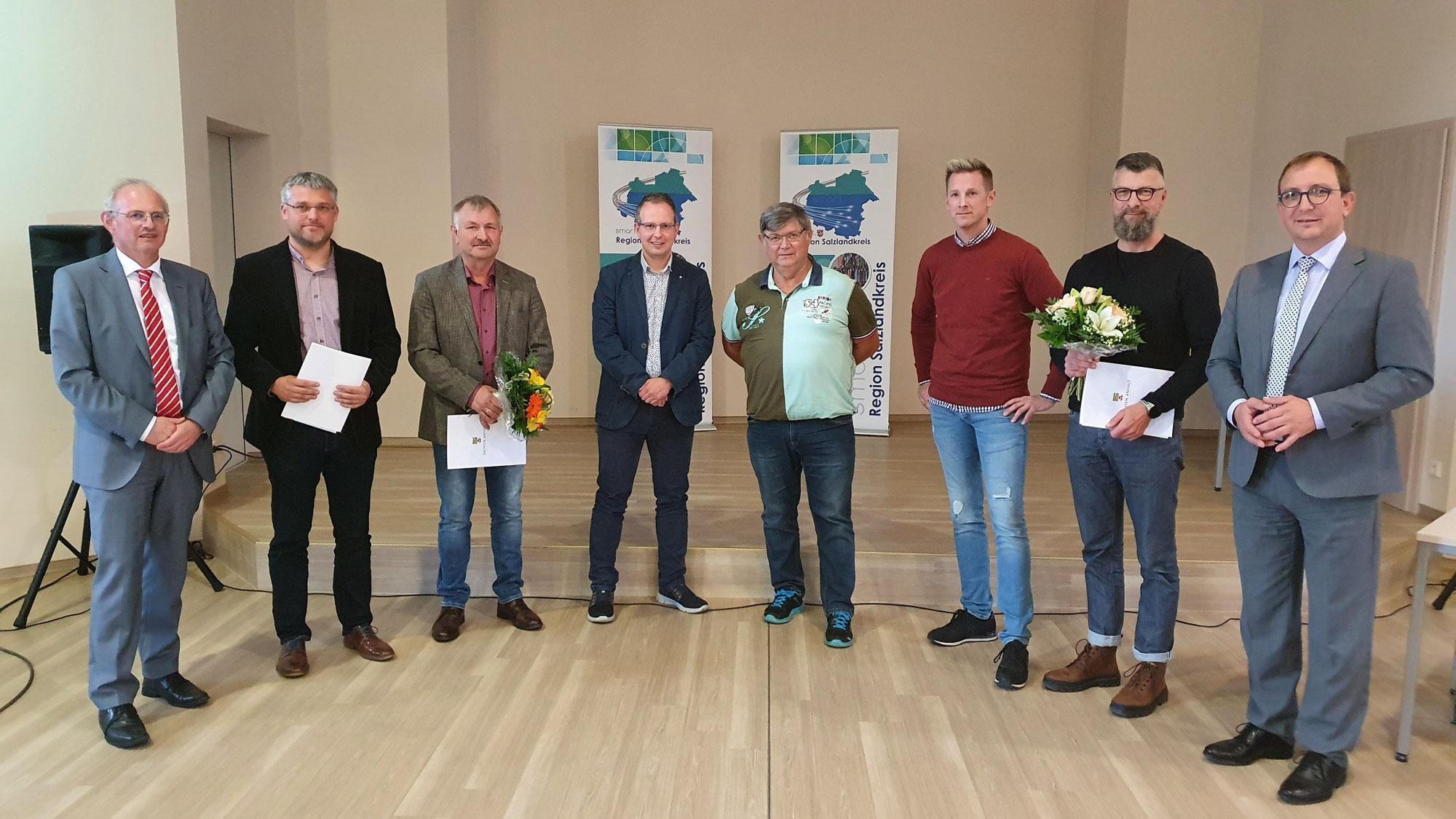 Sieger und Platzierte beim 5. Dorfwettbewerb geehrt