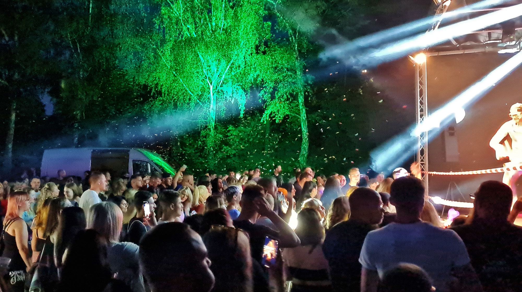 Partyalarm am Wolmirslebener See