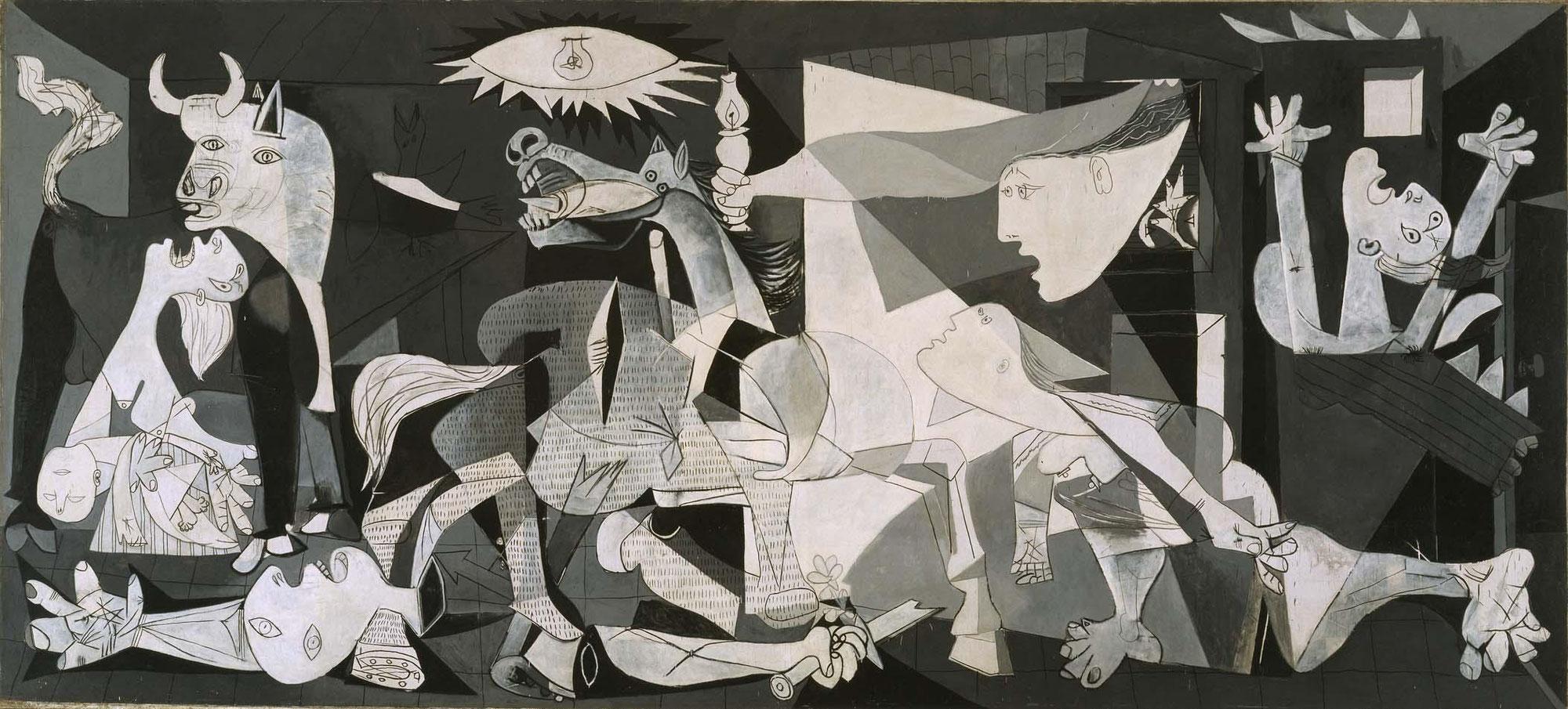 Герника - Пабло Пикассо