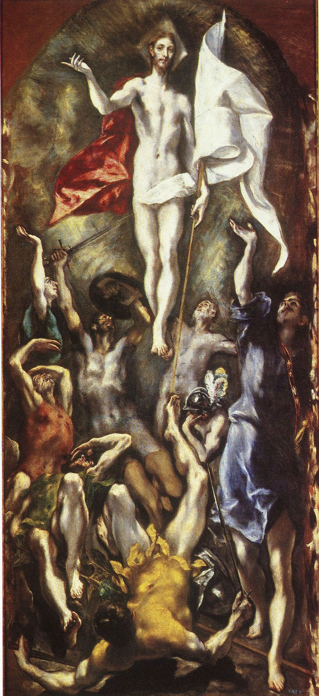 Воскресение Христа - Эль Греко (1597 - 1600)