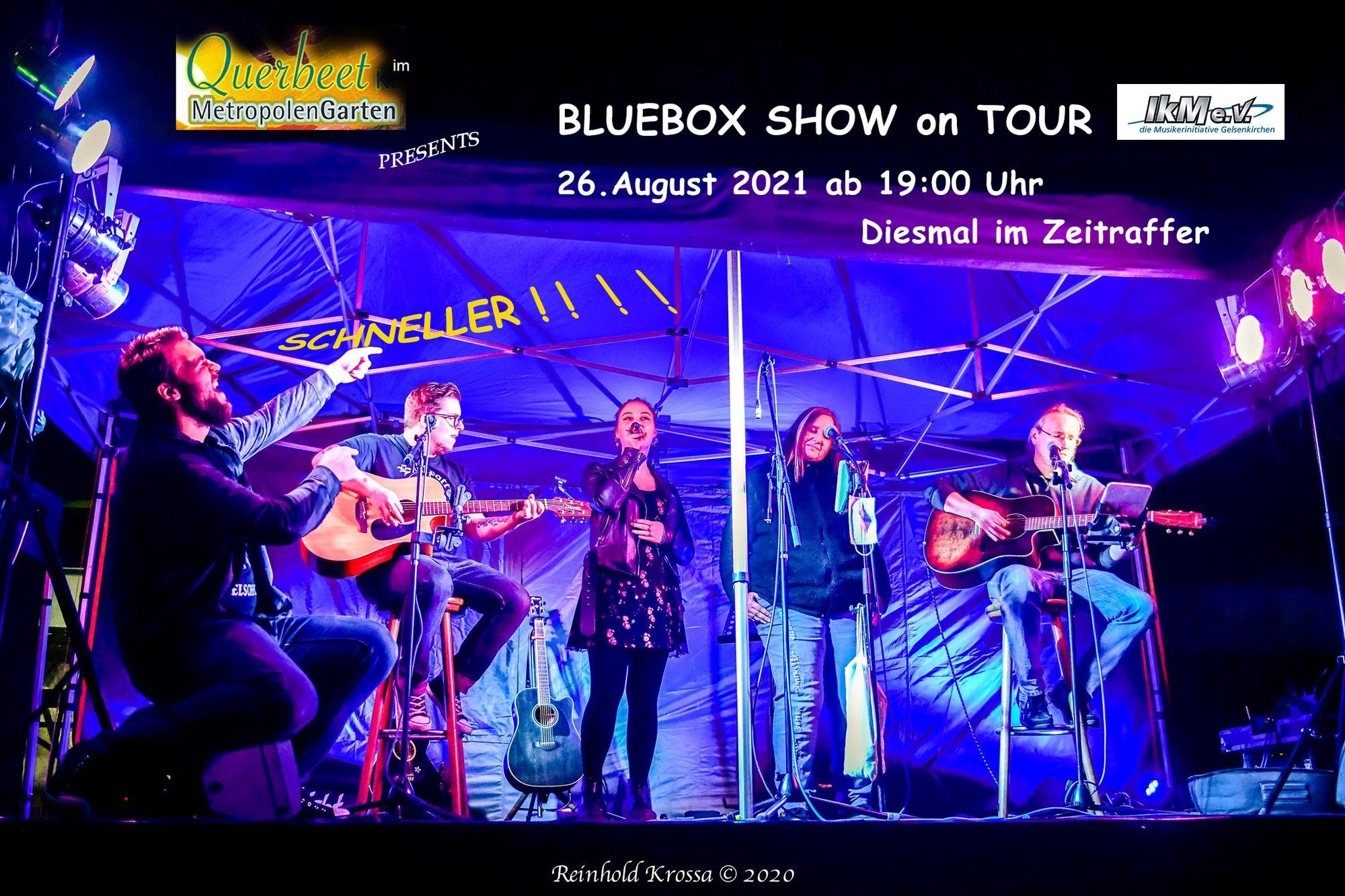 Querbeet 4.0 - Die Bluebox Show on Tour